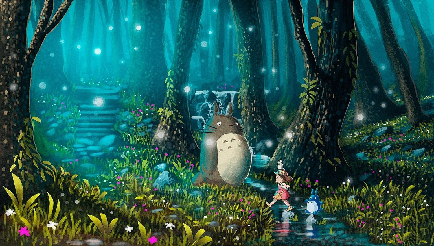 Totoro Wallpapers - Top Free Totoro Backgrounds ...