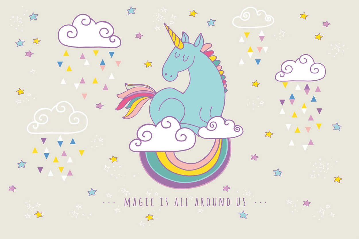 Rainbow Unicorn Wallpapers Top Free Rainbow Unicorn Backgrounds Wallpaperaccess