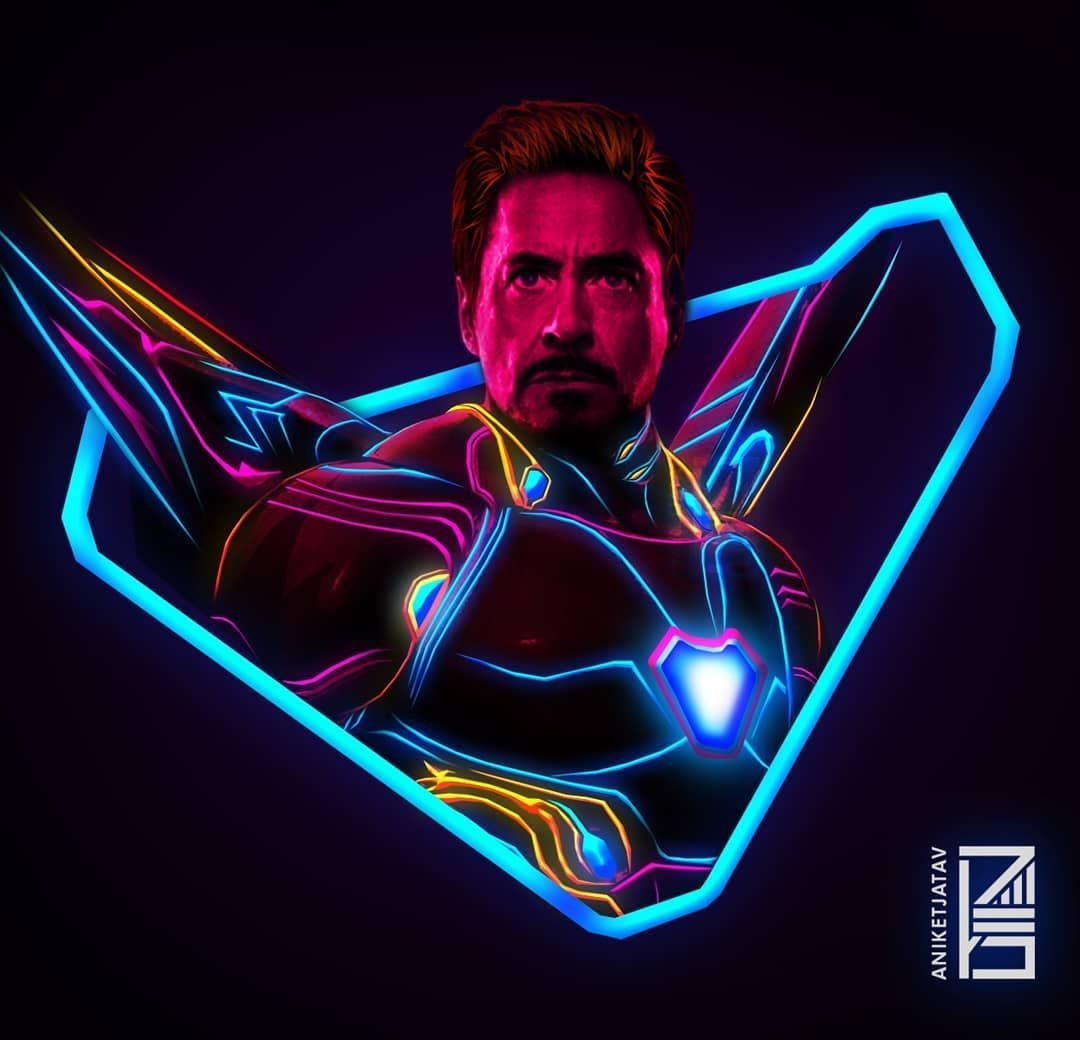 Neon Marvel Wallpapers Top Free Neon Marvel Backgrounds Wallpaperaccess