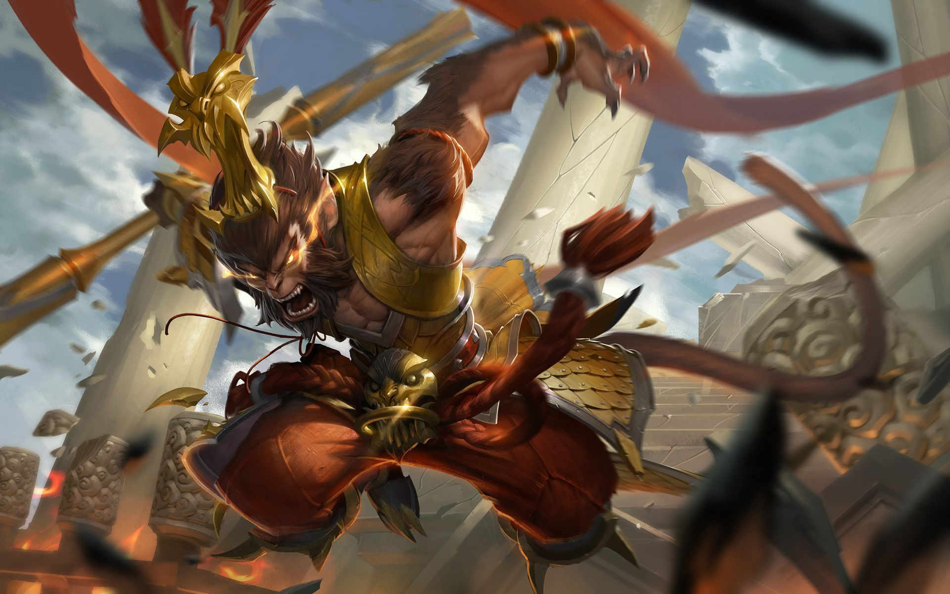 Sun Wukong Wallpapers Top Free Sun Wukong Backgrounds