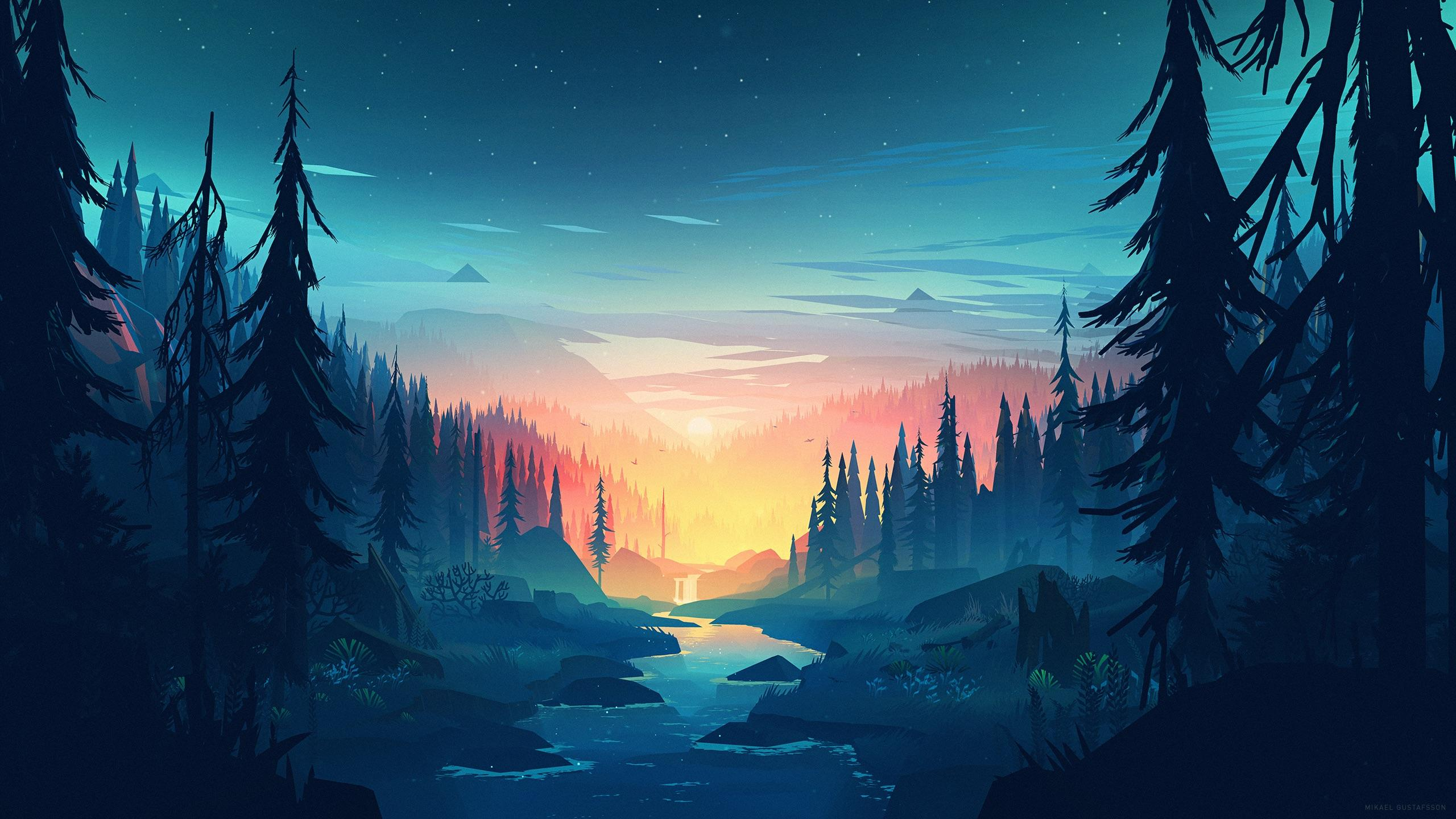 Dusk Forest Wallpapers   Top Free Dusk Forest Backgrounds ...