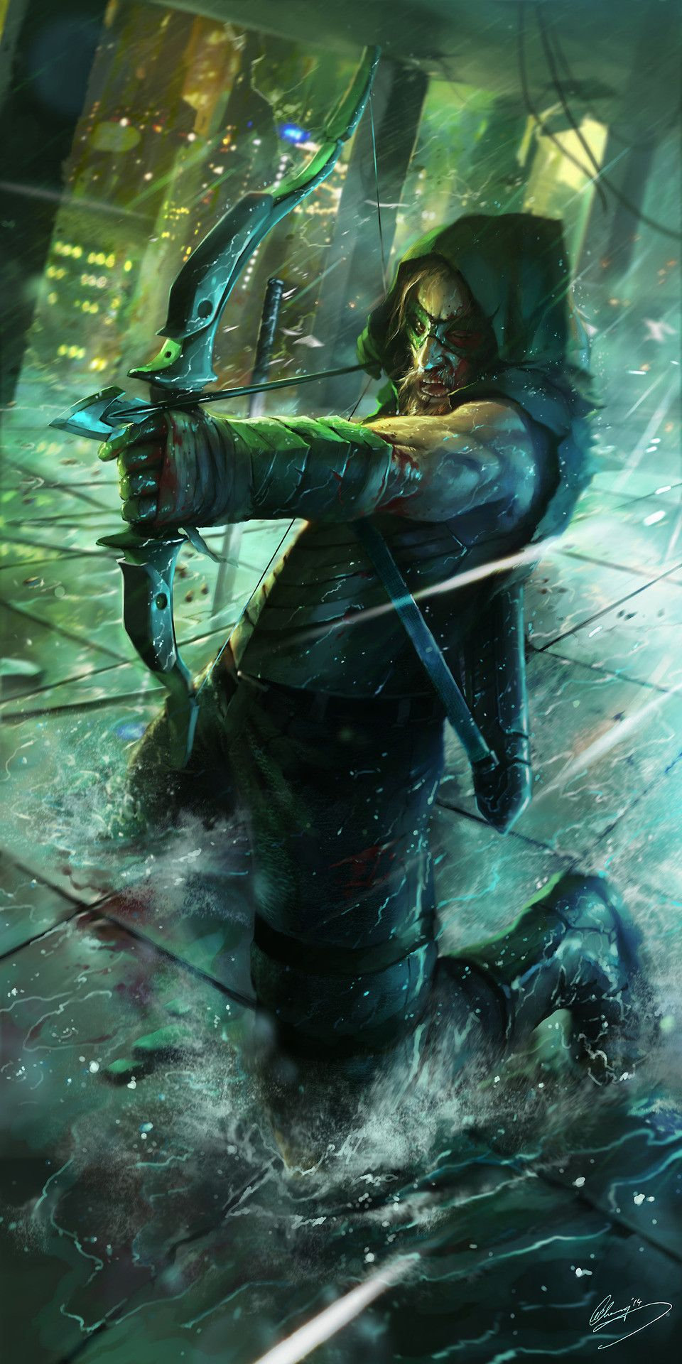 Green Arrow Phone Wallpapers Top Free Green Arrow Phone
