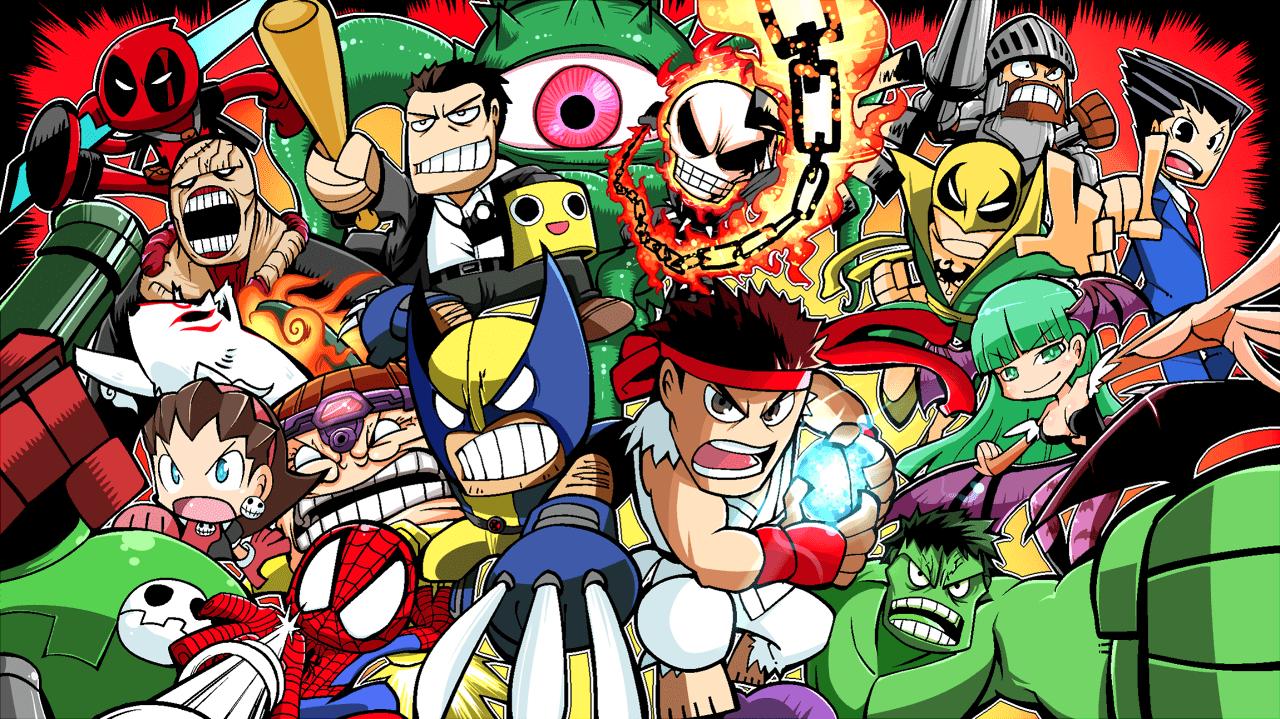 Marvel Vs Capcom Wallpapers Top Free Marvel Vs Capcom