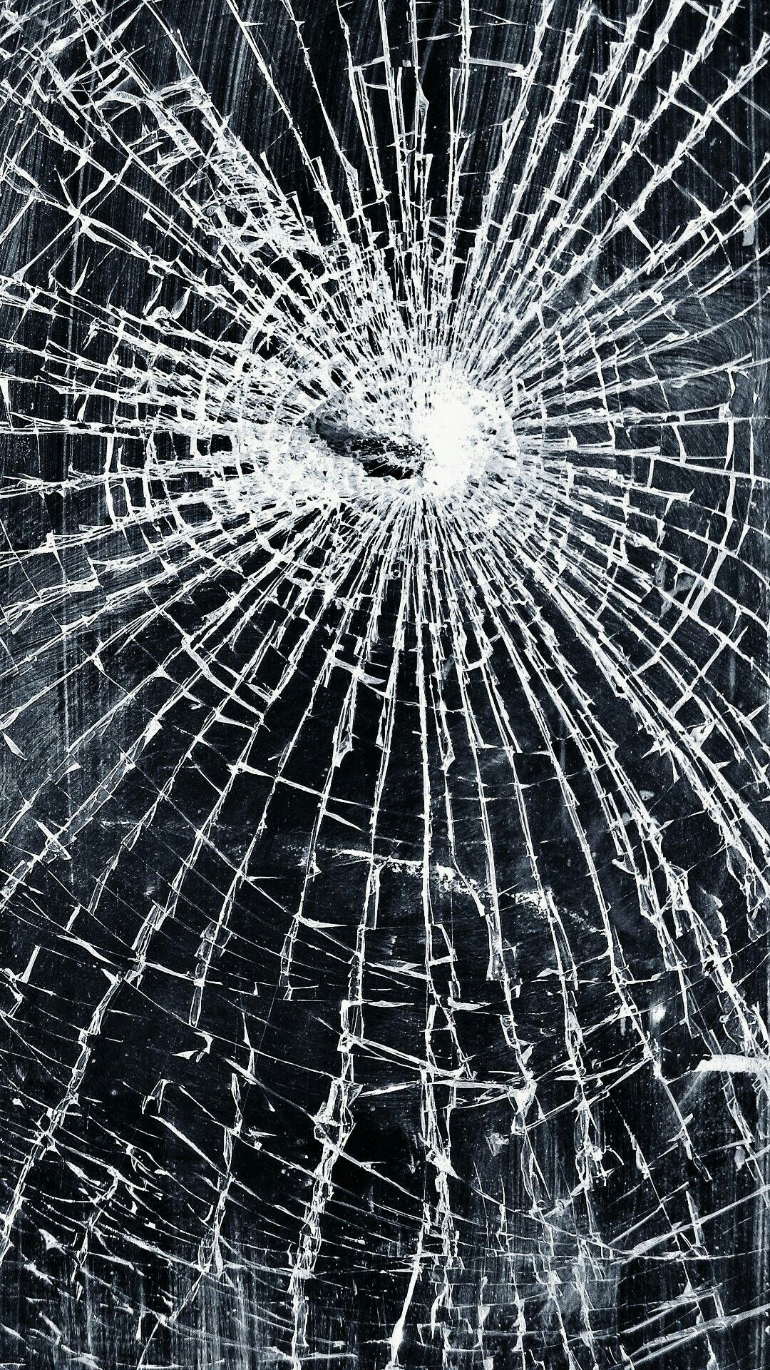 Iphone cracked screen wallpapers top free iphone cracked - Mobile screen crack wallpaper ...