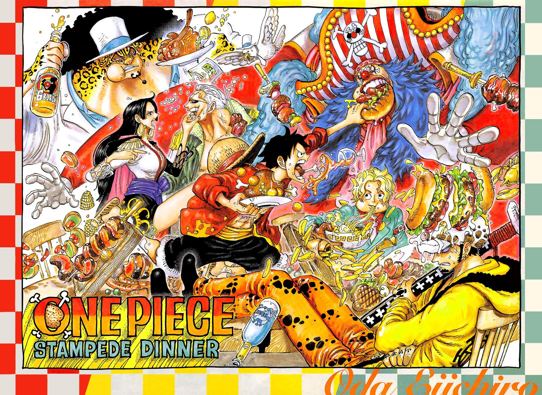 One Piece Stampede Phone Wallpaper ...