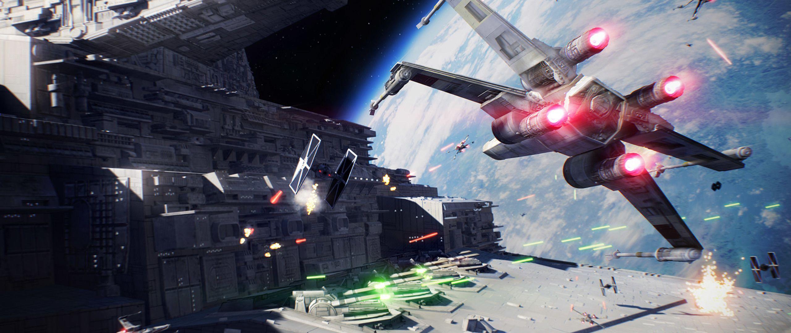 Star Wars Ultrawide Wallpapers Top Free Star Wars Ultrawide Backgrounds Wallpaperaccess