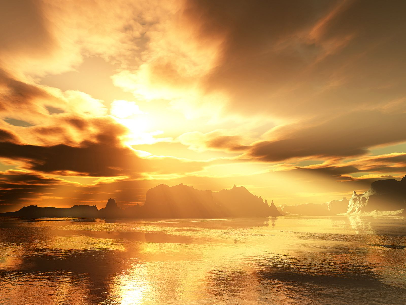 Gold Sky Wallpapers Top Free Gold Sky Backgrounds Wallpaperaccess Wallpaper hills sunset sky sea golden