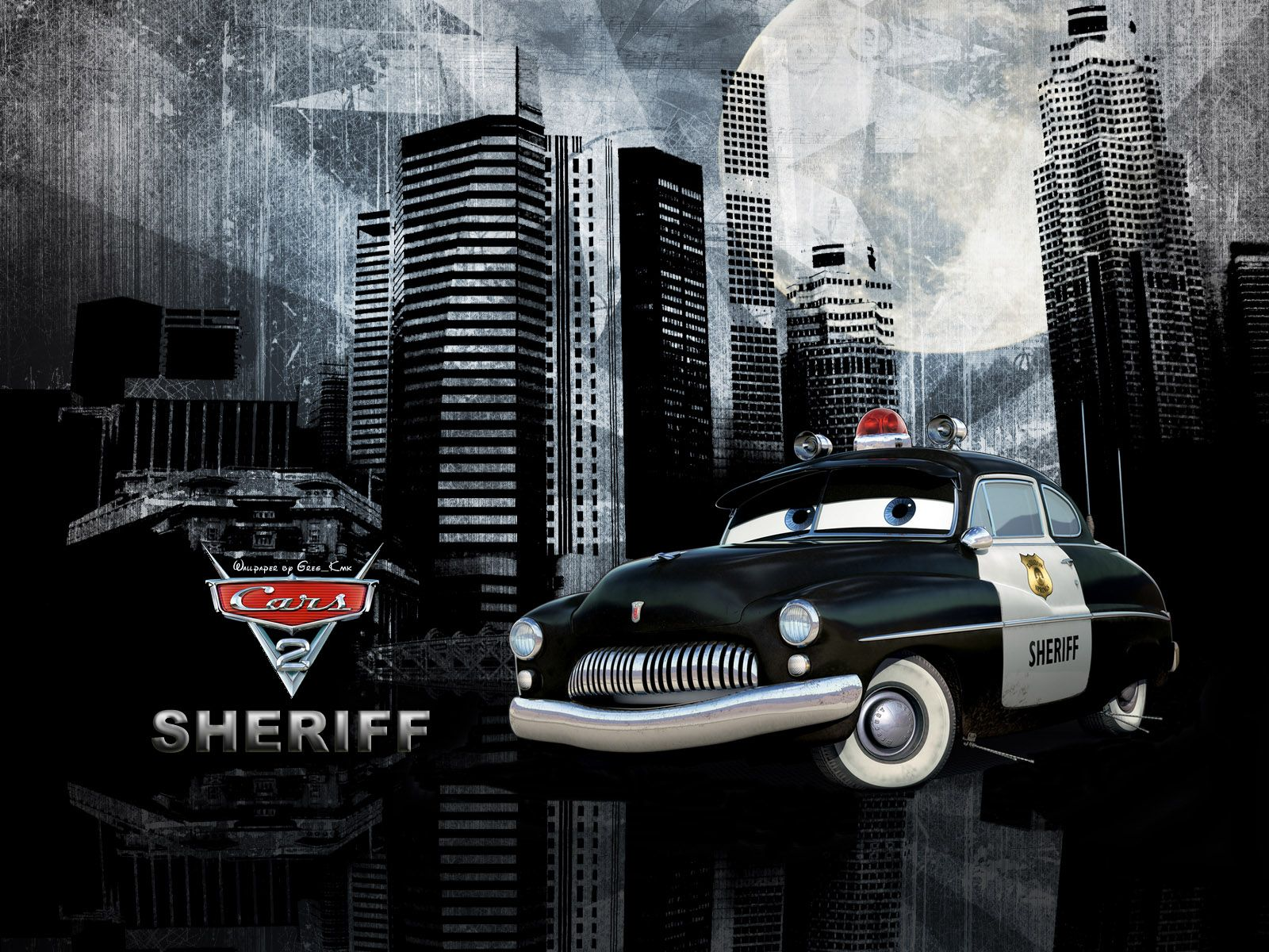 Тачки картинка шериф