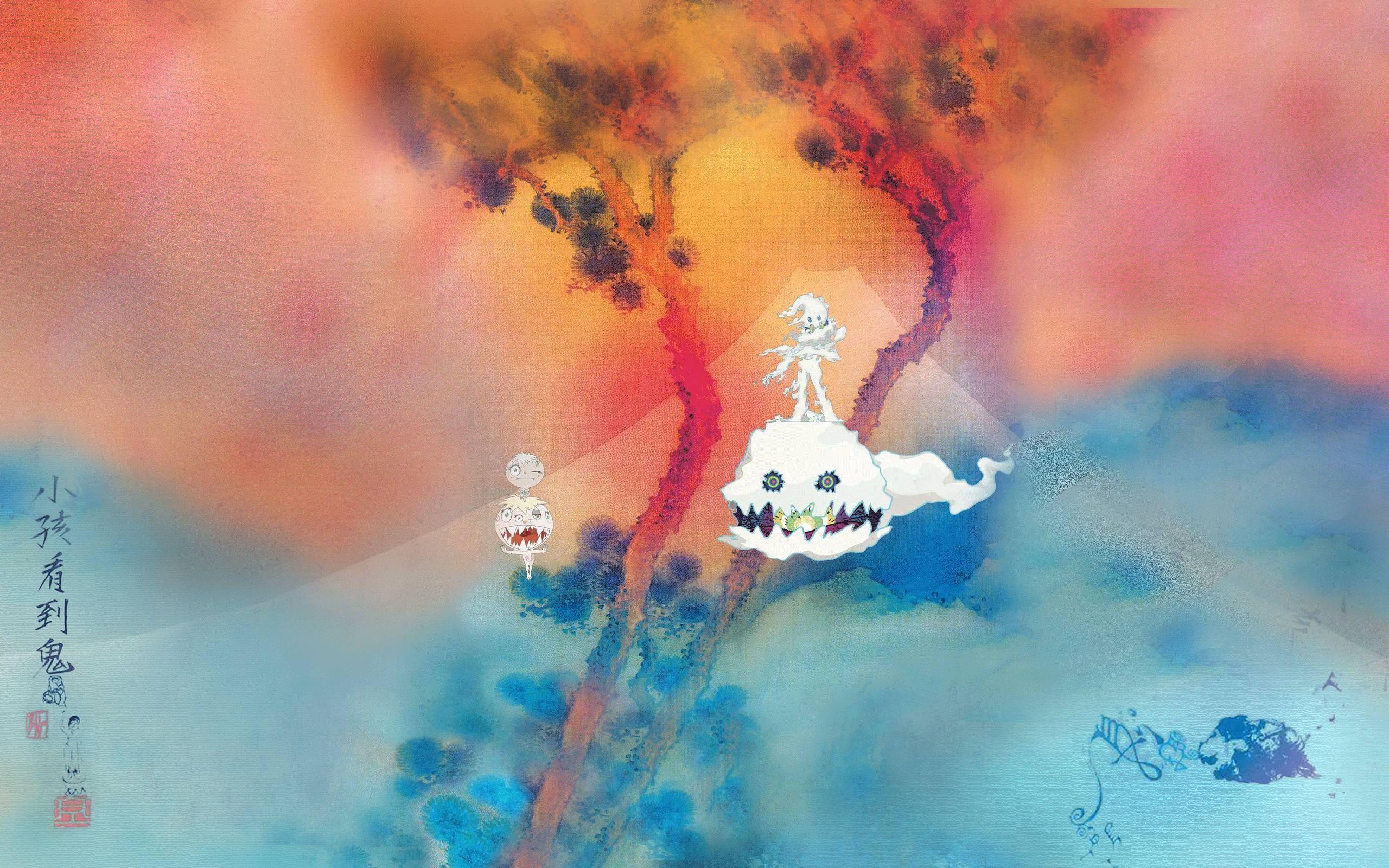Kids See Ghosts Wallpapers Top Free Kids See Ghosts