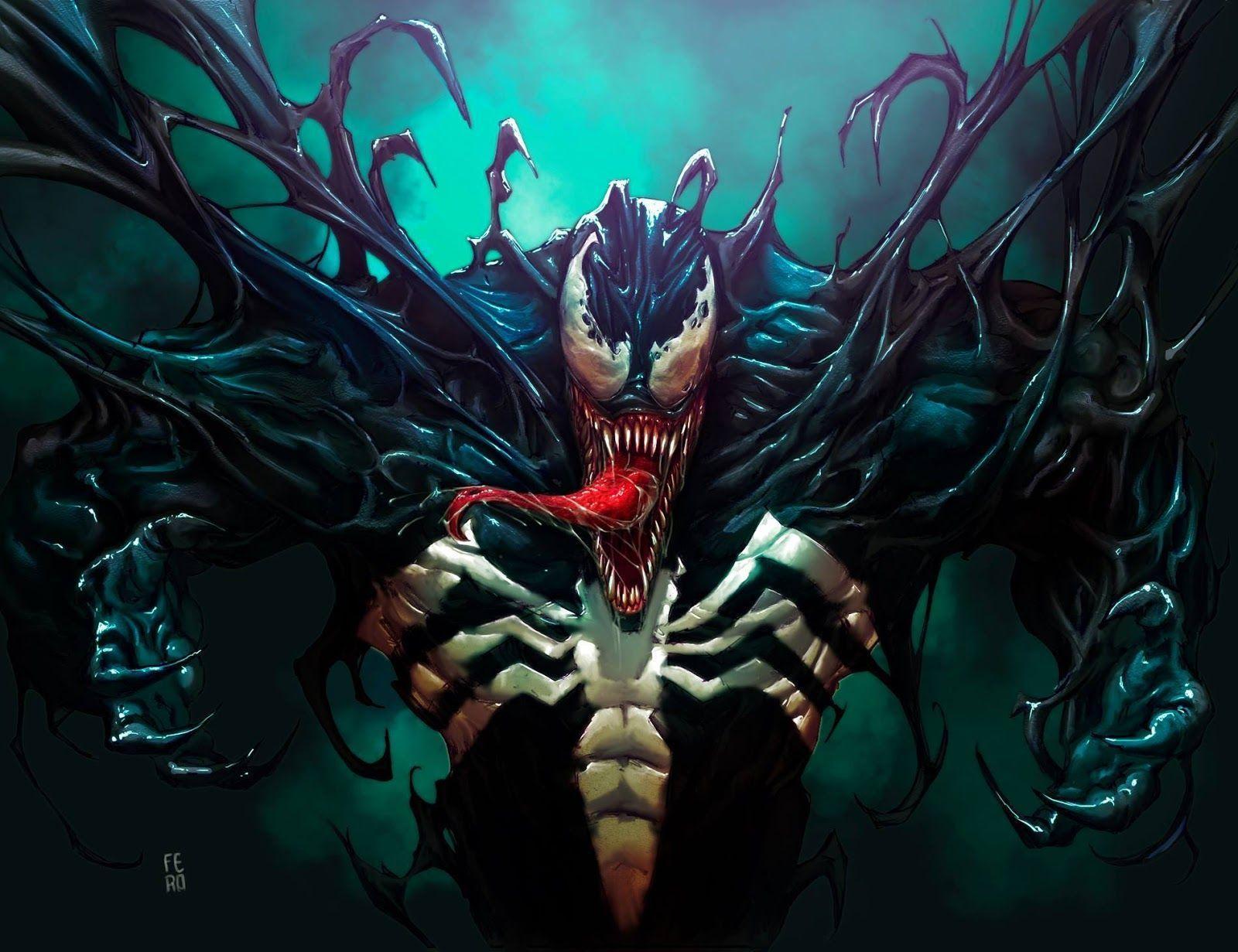 Marvel Venom Wallpapers Top Free Marvel Venom Backgrounds Wallpaperaccess