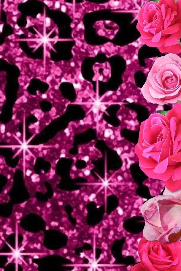 736x1104 Hình nền Hello Kitty Cheetah - Màu hồng Cheetah Print