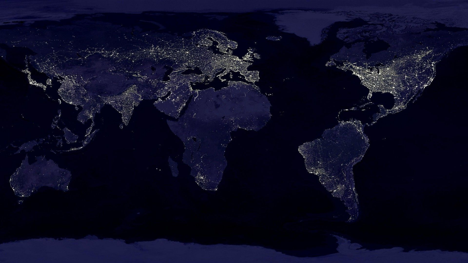 Earth at Night Wallpapers - Top Free Earth at Night