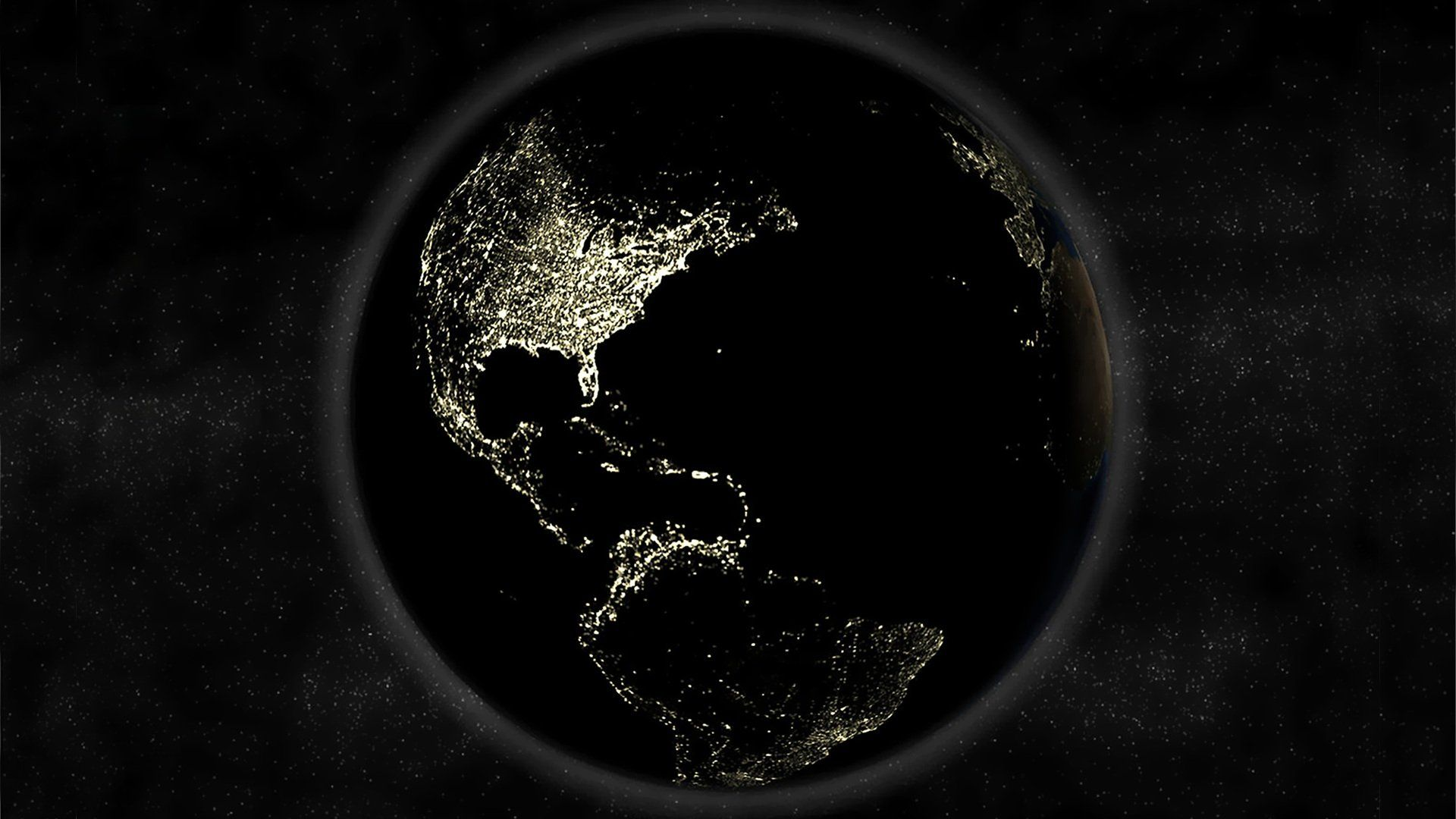 Earth At Night Wallpapers Top Free Earth At Night Backgrounds