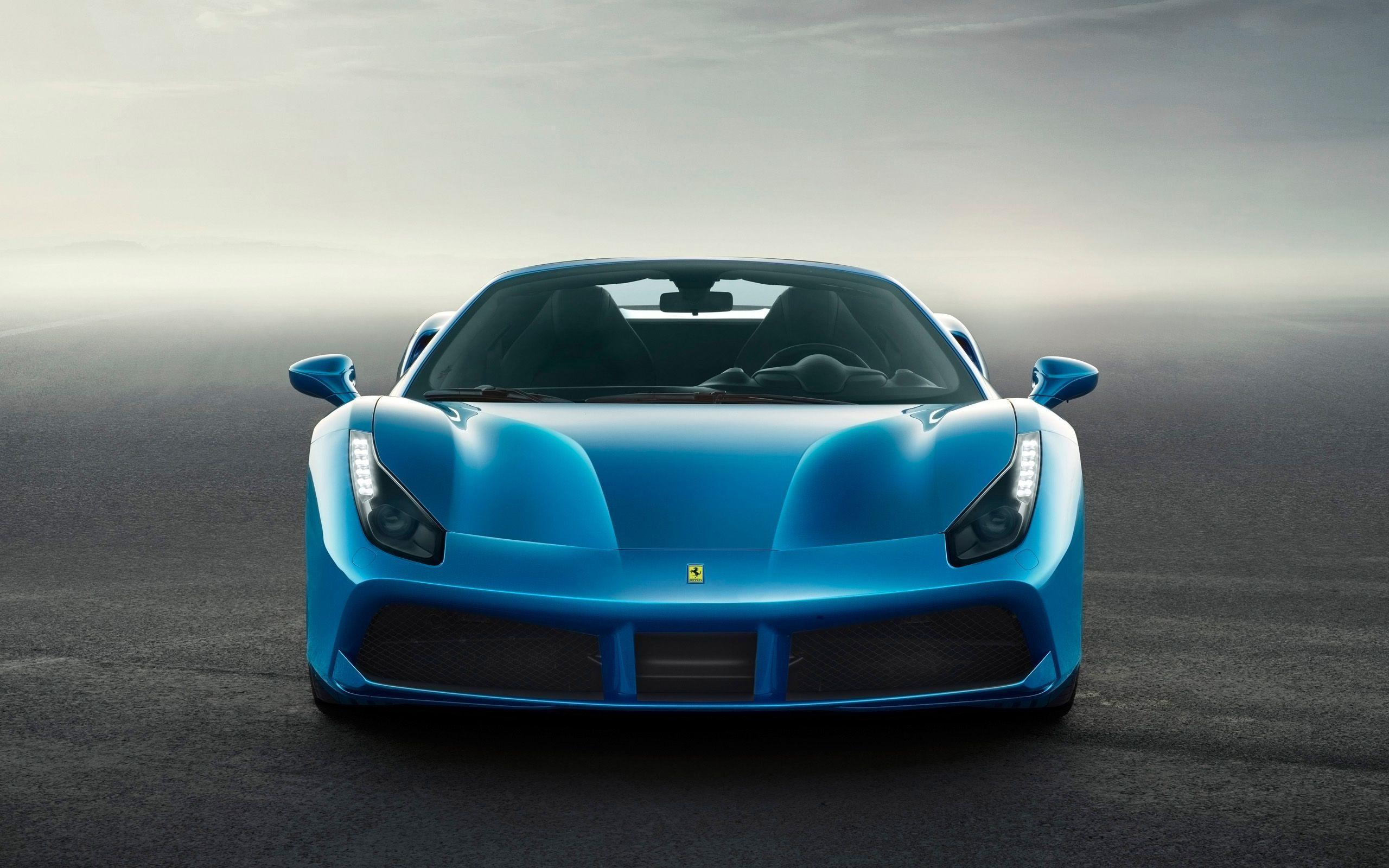 Blue Ferrari Wallpapers Top Free Blue Ferrari Backgrounds Wallpaperaccess