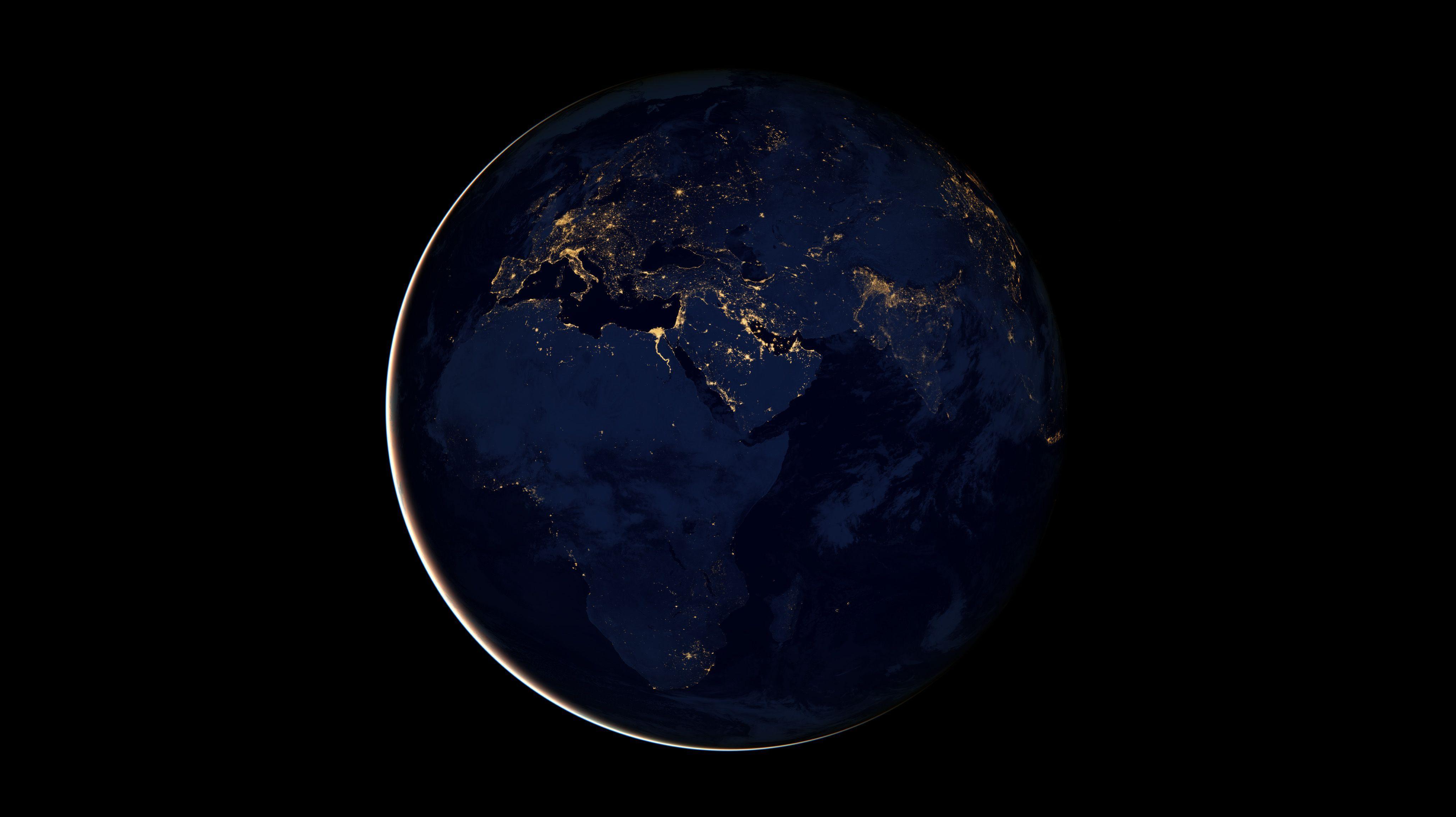 dreamscene animated rotating earth space