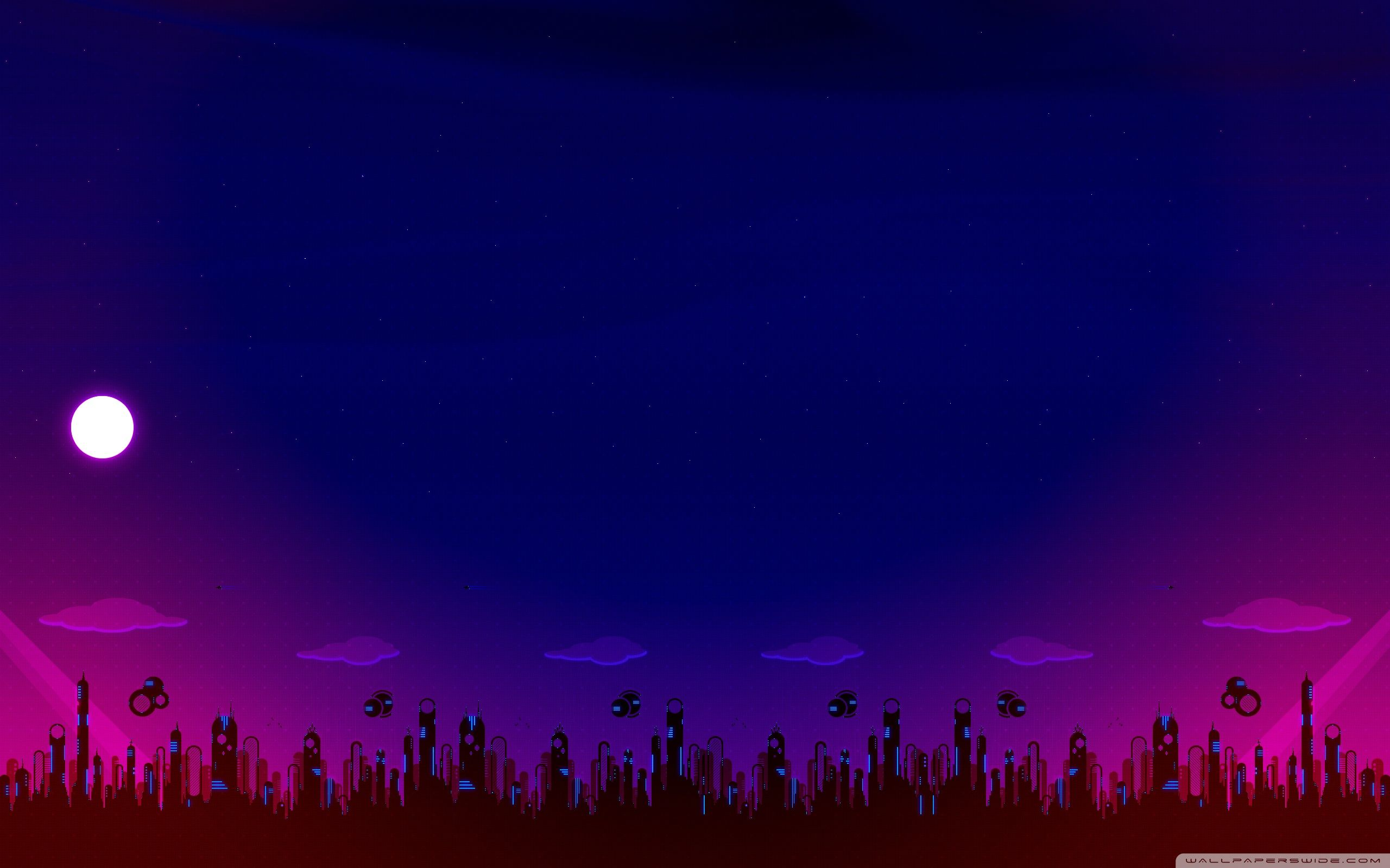 Night Illustration Hd Wallpapers Top Free Night Illustration Hd
