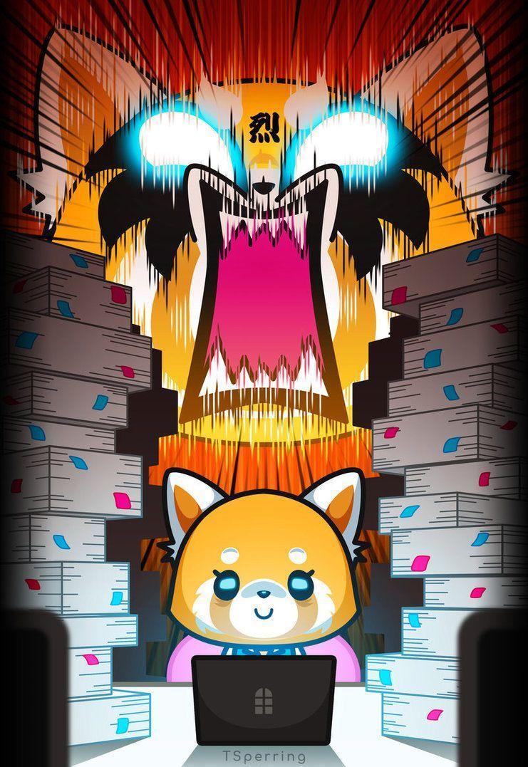 Aggretsuko Wallpapers - Top Free Aggretsuko Backgrounds ...