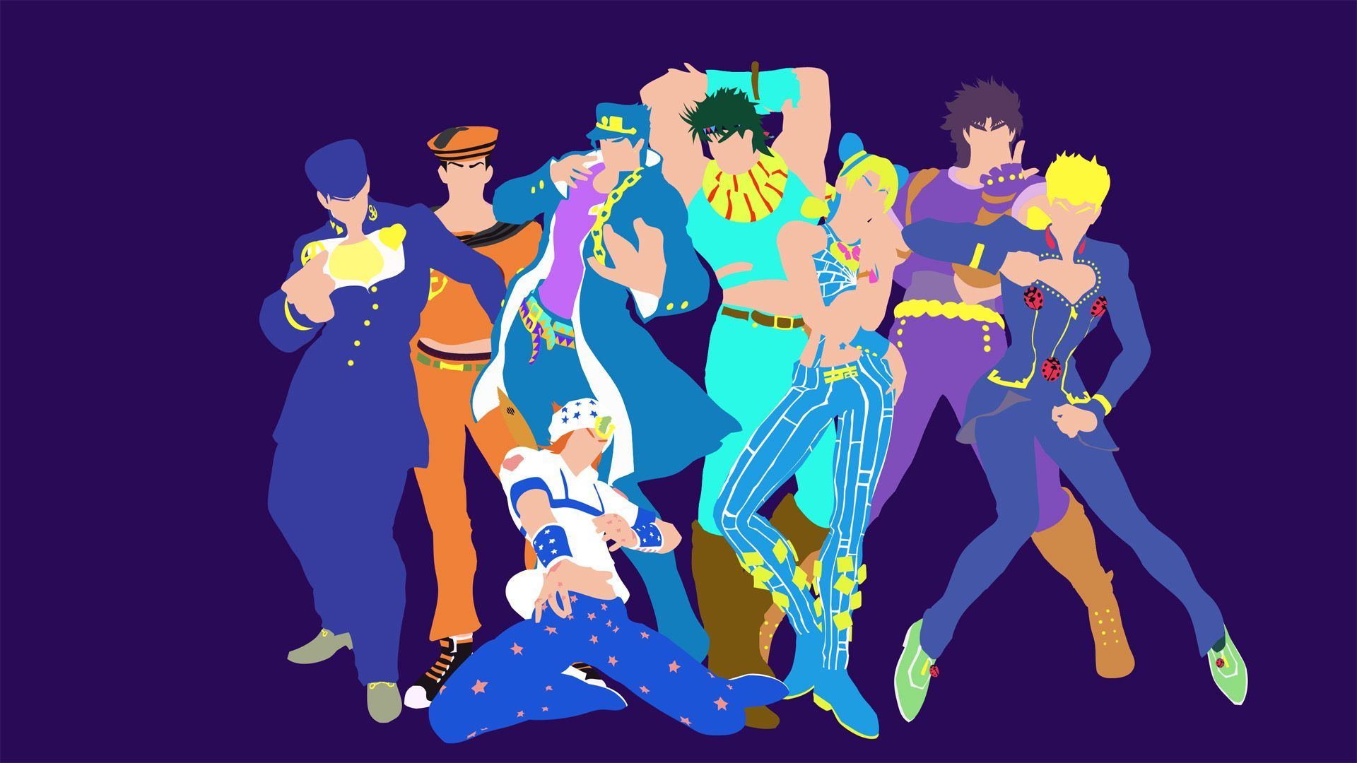 Stardust Crusaders Wallpapers Top Free Stardust Crusaders