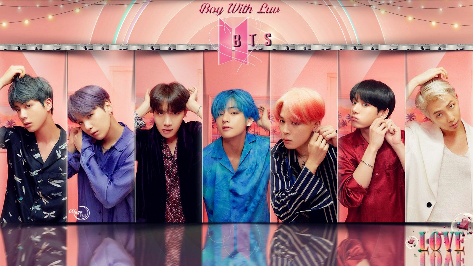 Bts Boy With Love Wallpapers Top Free Bts Boy With Love