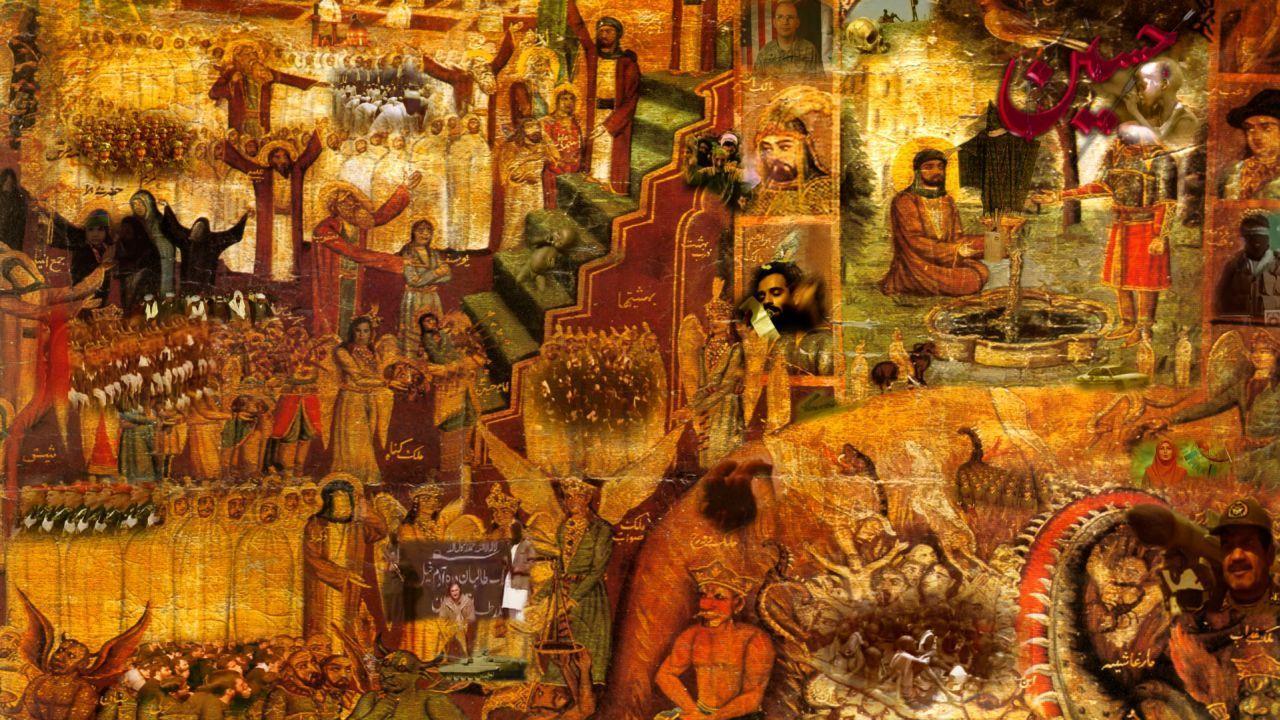 Indian Art Painting Wallpaper Hd