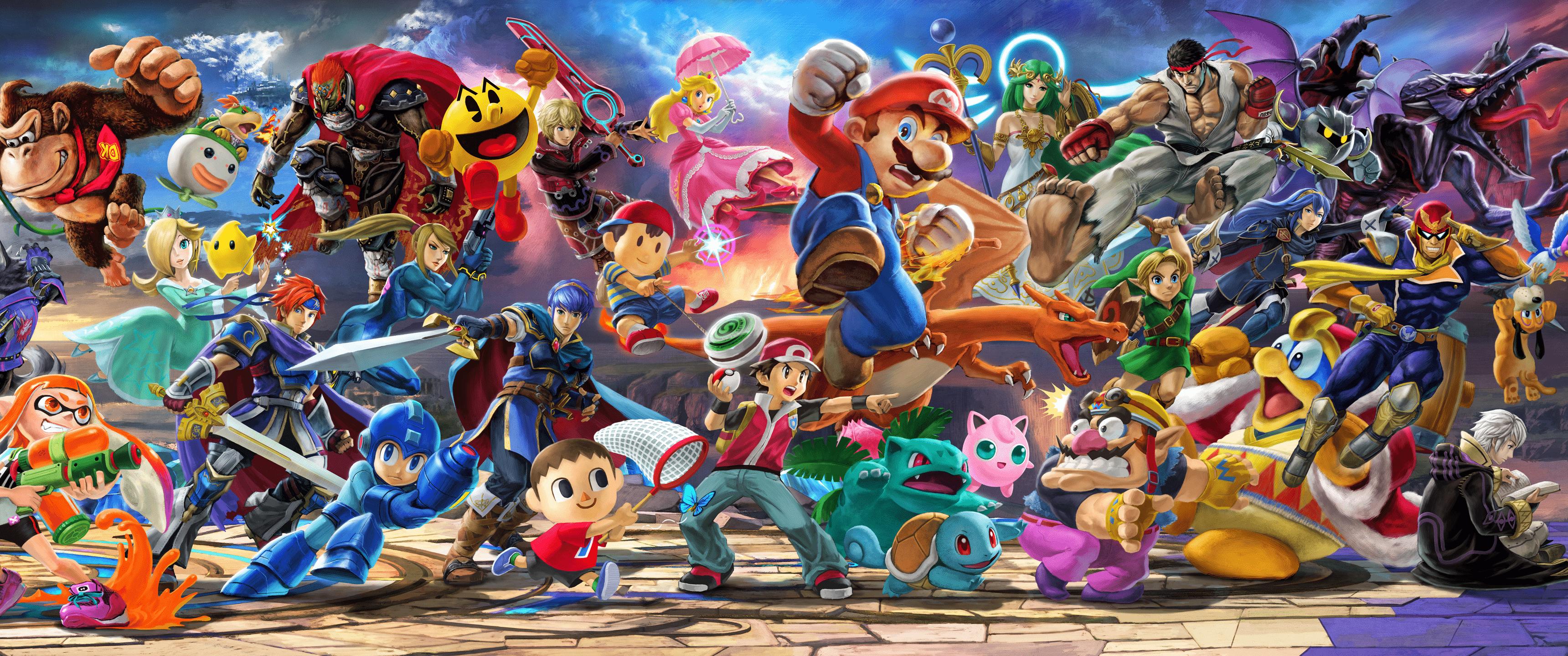 Smash Bros Ultimate Wallpapers - Top Free Smash Bros ...