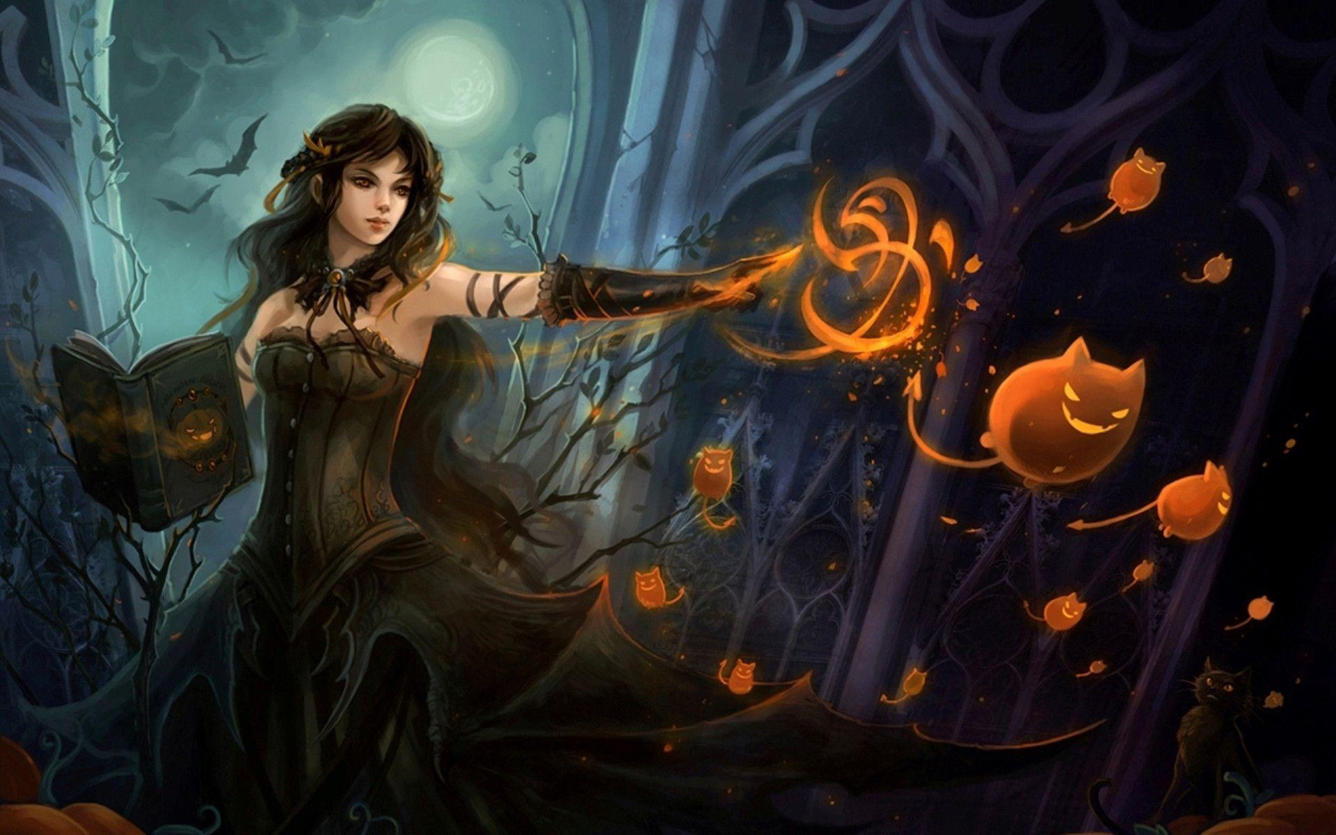 Witchy Wallpapers Top Free Witchy Backgrounds Wallpaperaccess