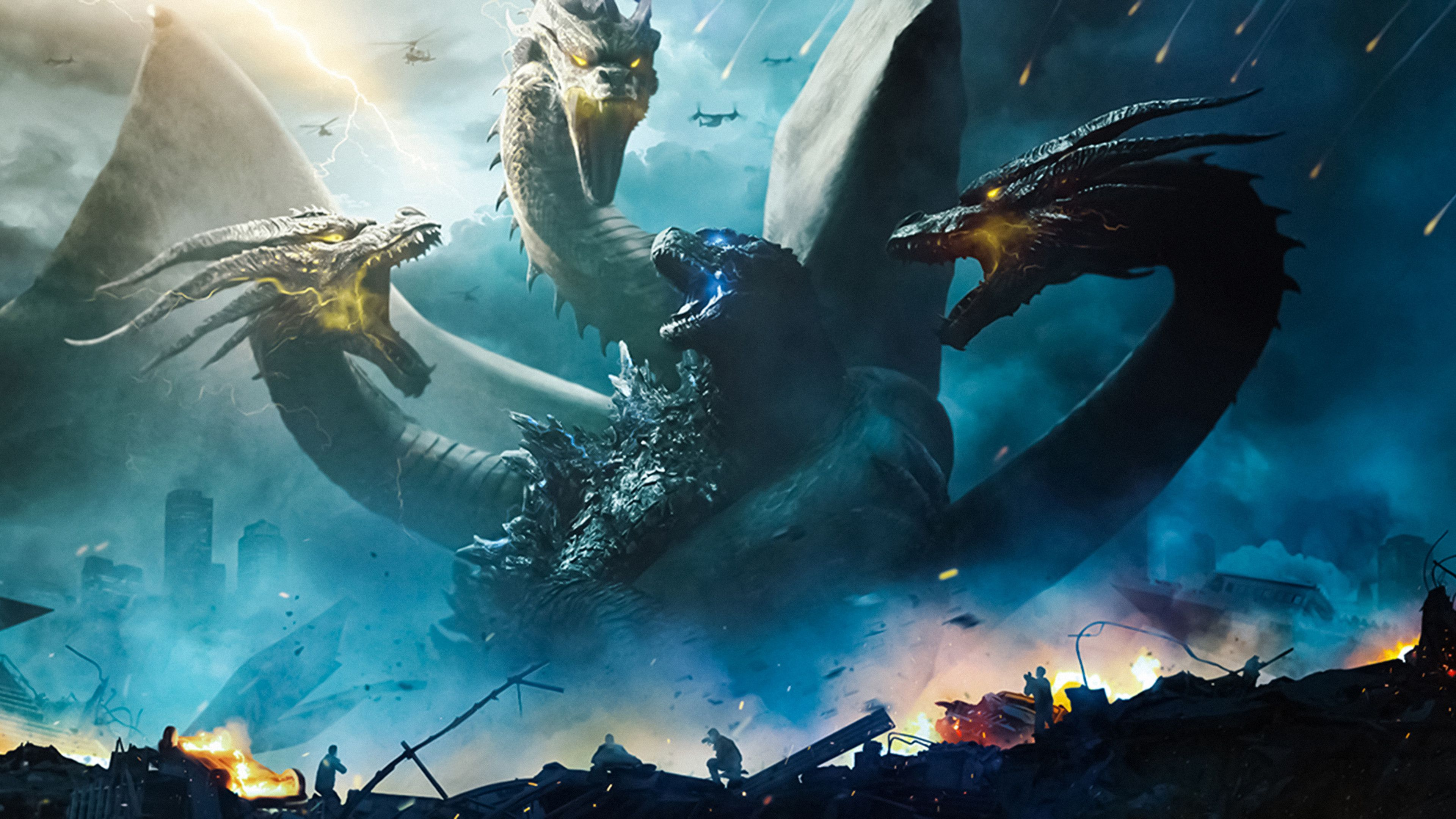 Godzilla Vs King Ghidorah Wallpapers Top Free Godzilla Vs King