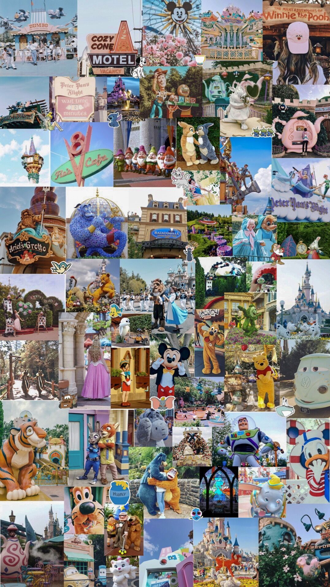 Disney Collage Wallpapers Top Free Disney Collage Backgrounds