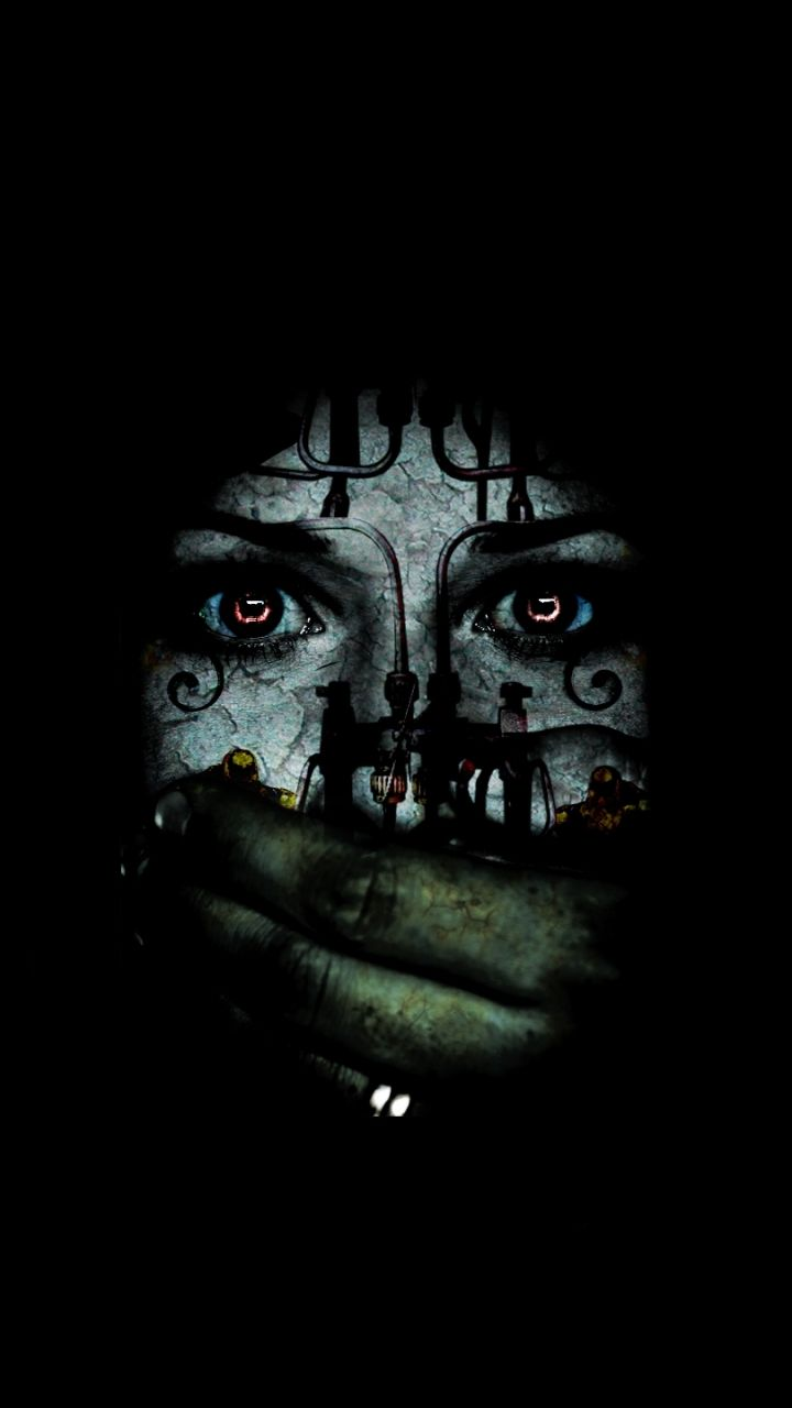 Scary Phone Wallpapers Top Free Scary Phone Backgrounds