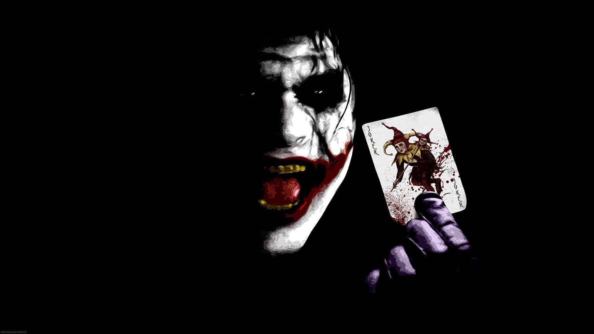 Hình nền 1920x1080 Joker trong Mod nguy hiểm với thẻ Joker