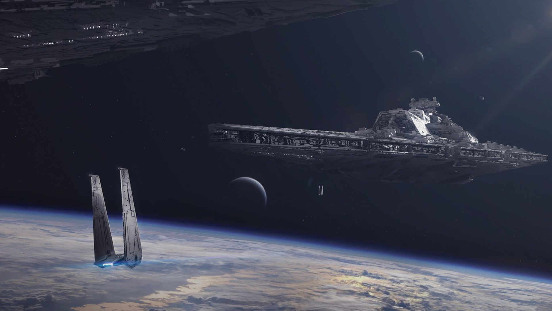 Star Wars Space Wallpapers Top Free Star Wars Space Backgrounds Wallpaperaccess
