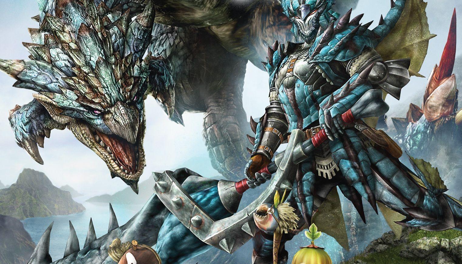 Monster Hunter 4u Wallpapers Top Free Monster Hunter 4u