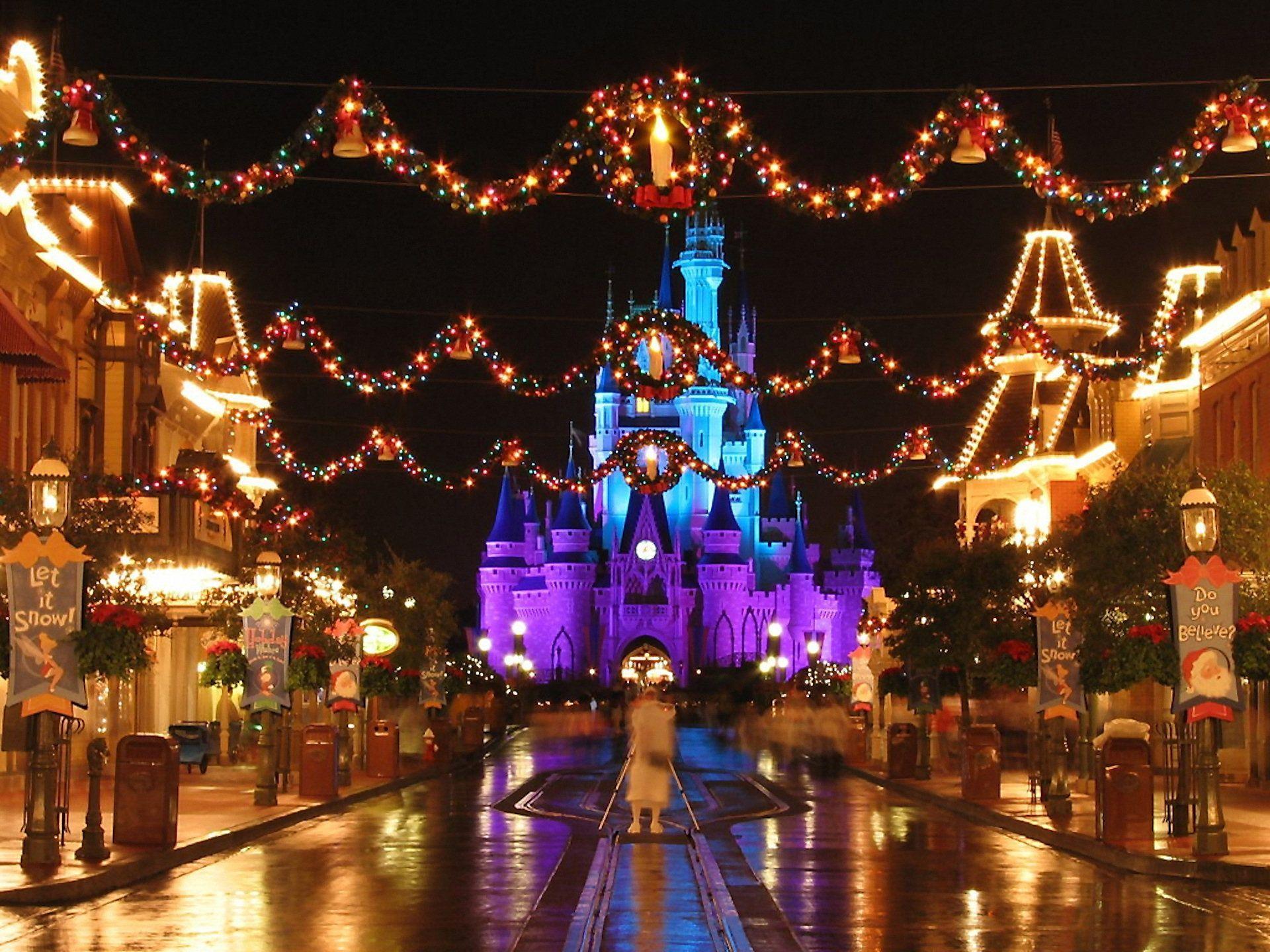 Disney World Christmas Wallpapers - Top