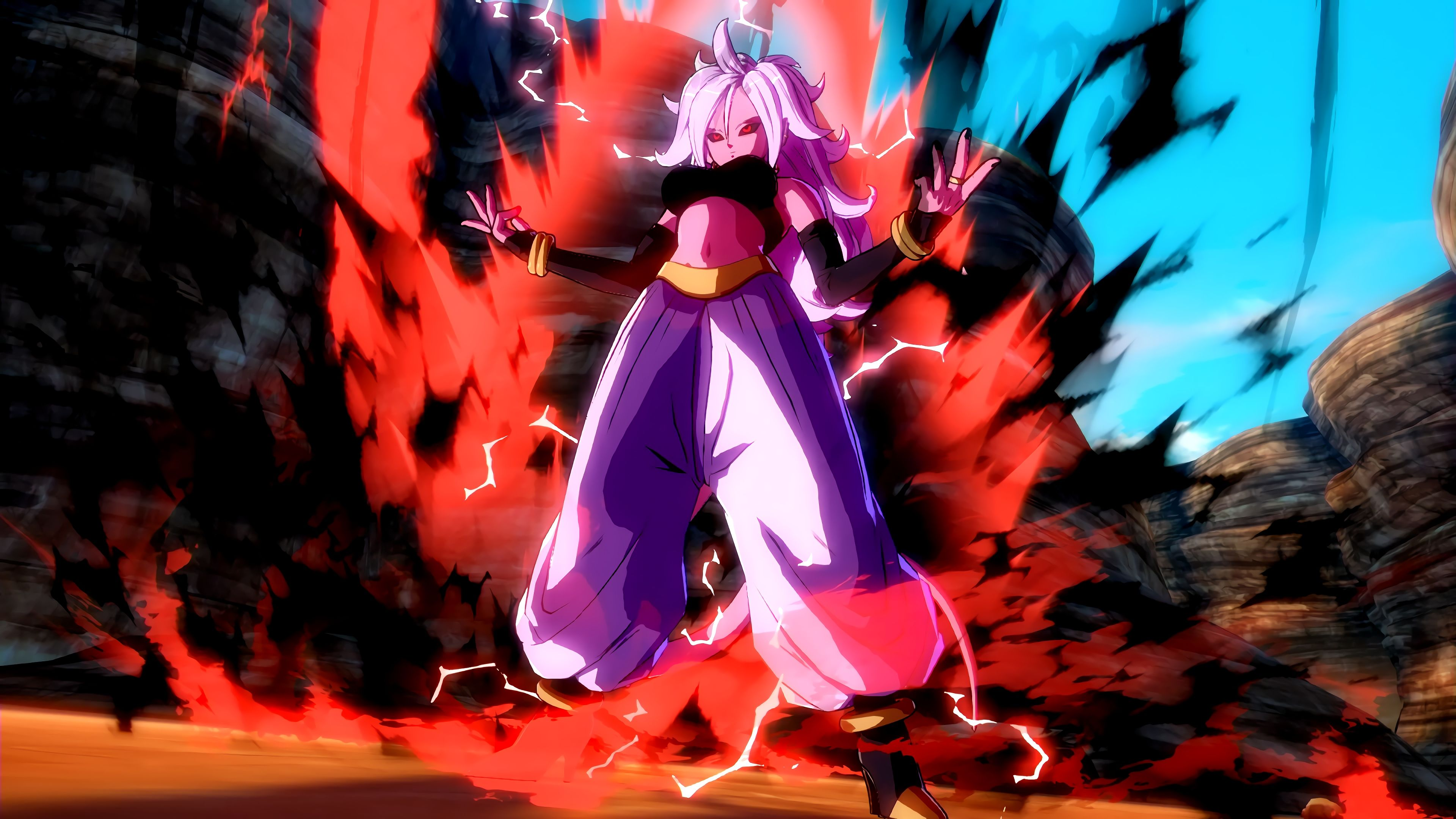 Majin Android 21 Wallpaper By Desertwiggle On Deviantart