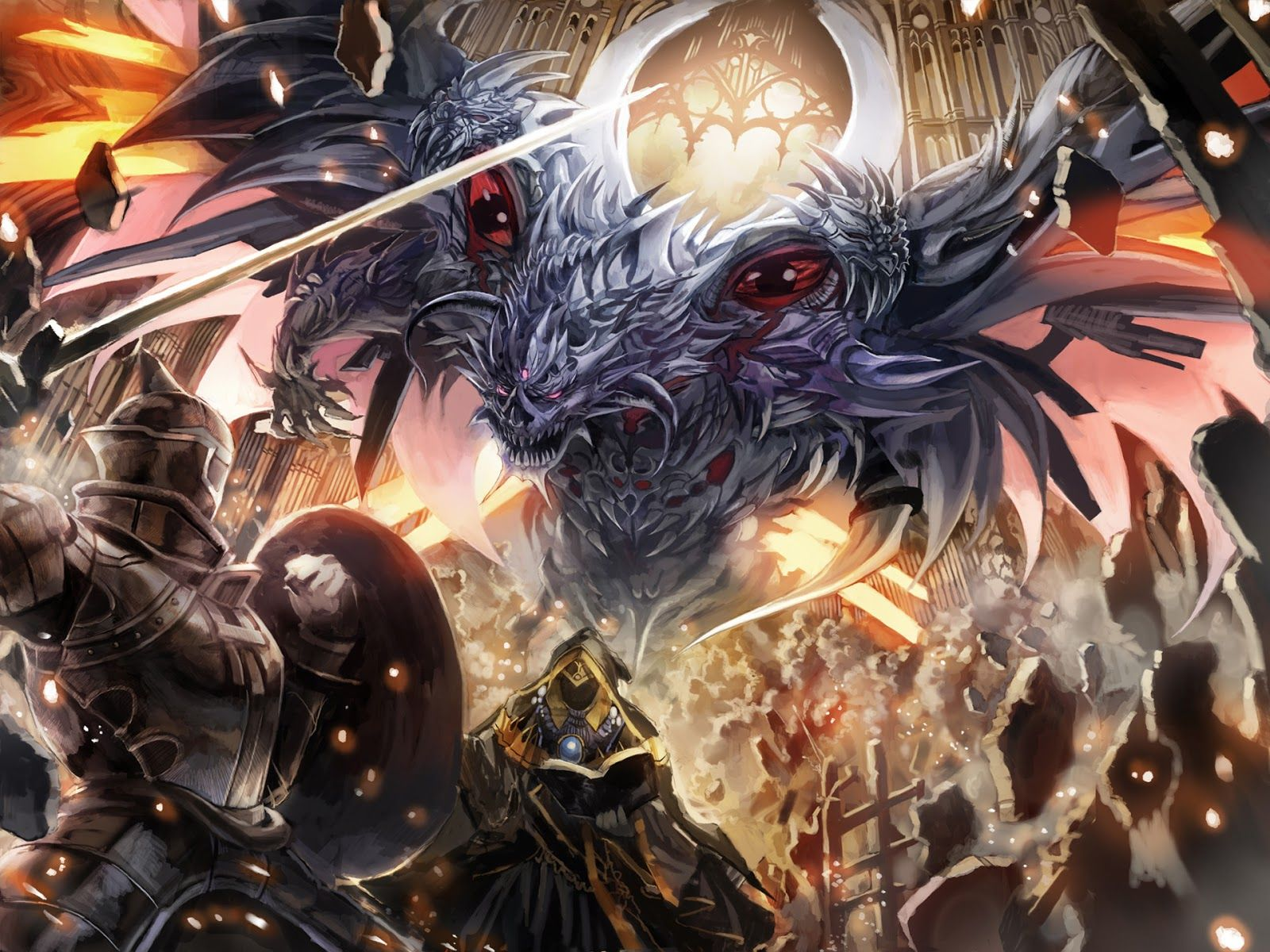 Epic anime battle wallpapers top free epic anime battle - Anime war wallpaper ...