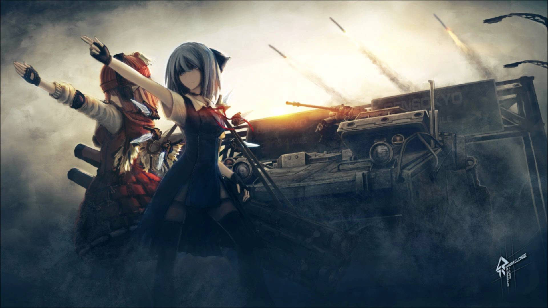 50+ Anime War Background Pics