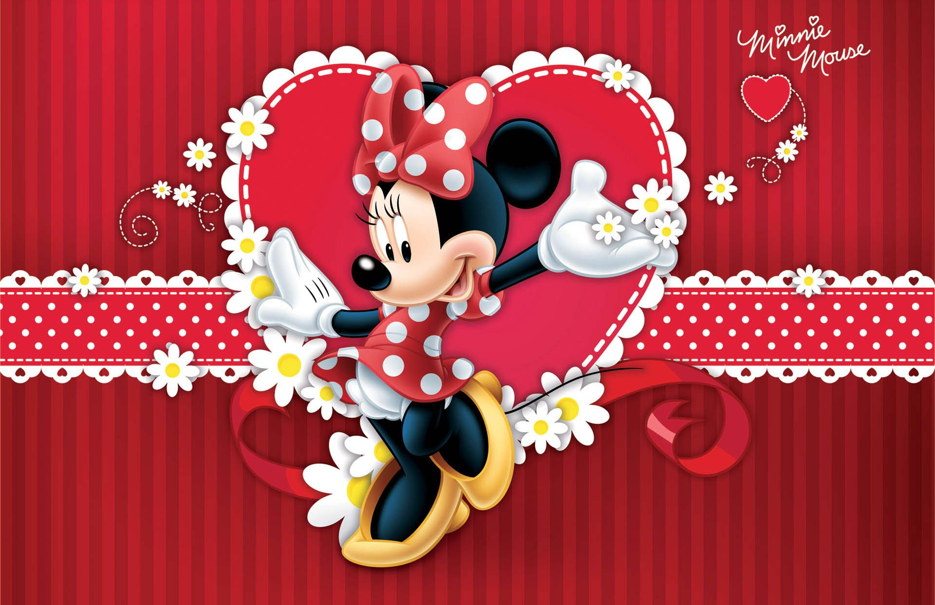 Minnie Mouse Red Wallpapers - Top Free Minnie Mouse Red ...