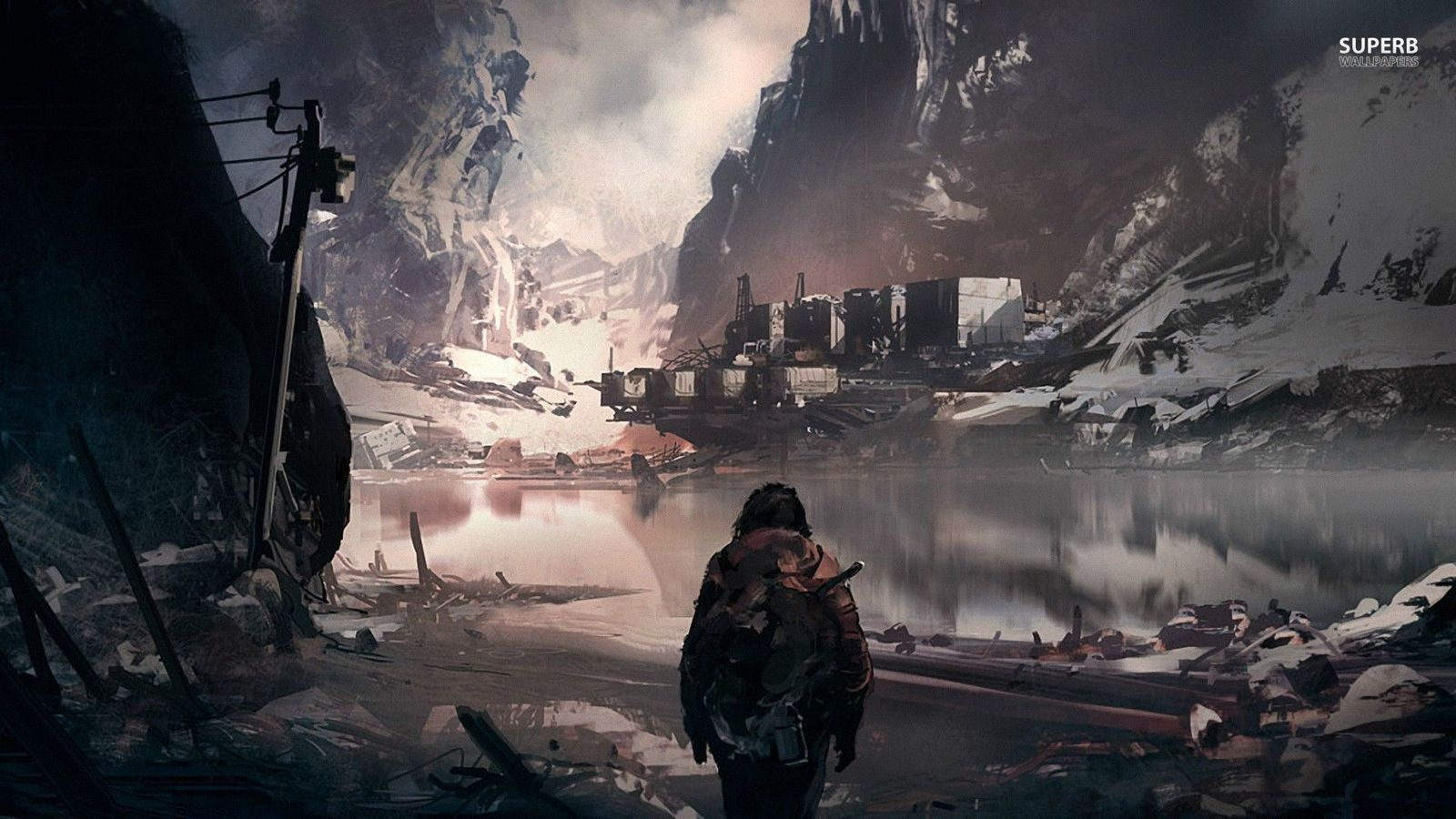 Post Apocalyptic Wallpapers Top Free Post Apocalyptic Backgrounds Wallpaperaccess