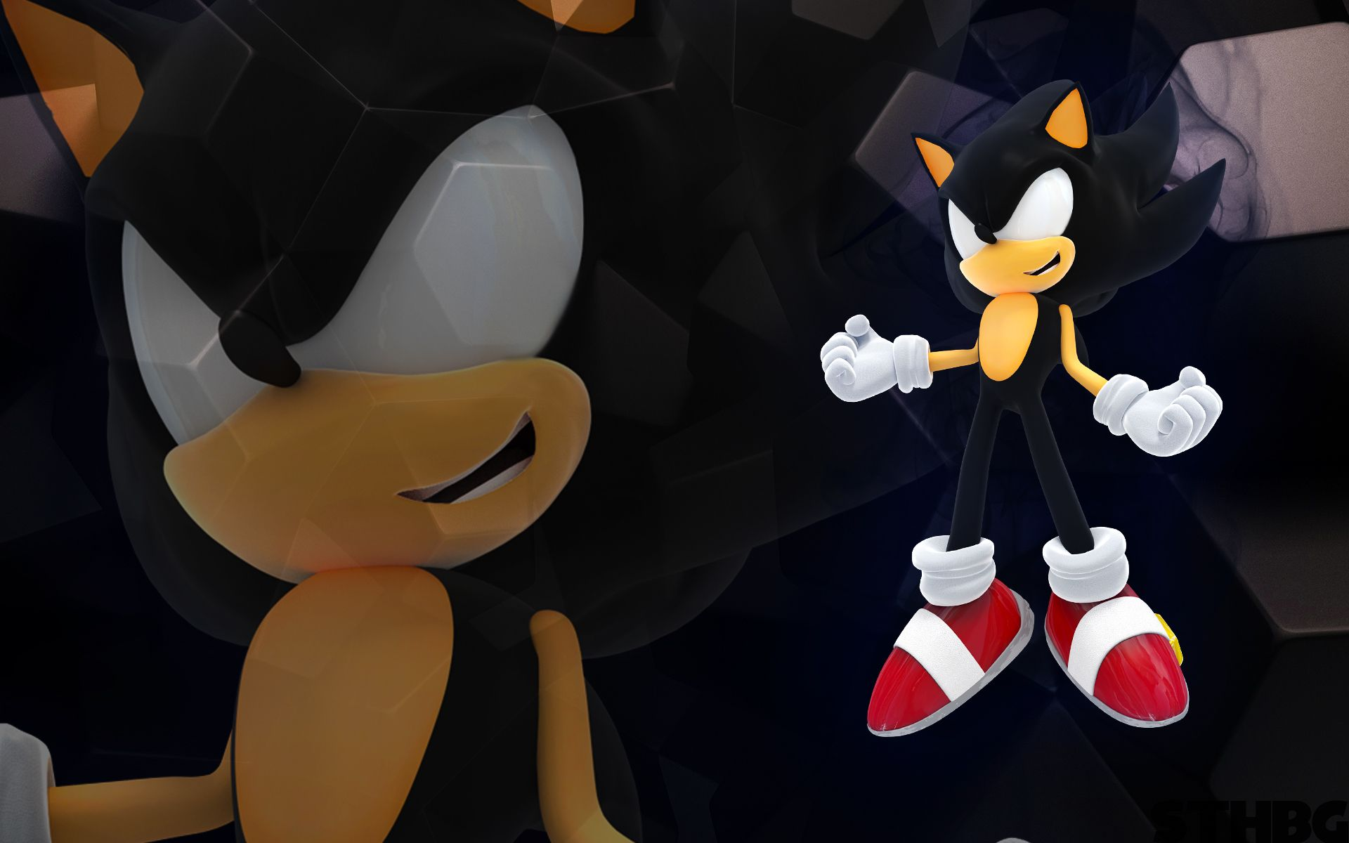 Dark Sonic Wallpapers Top Free Dark Sonic Backgrounds
