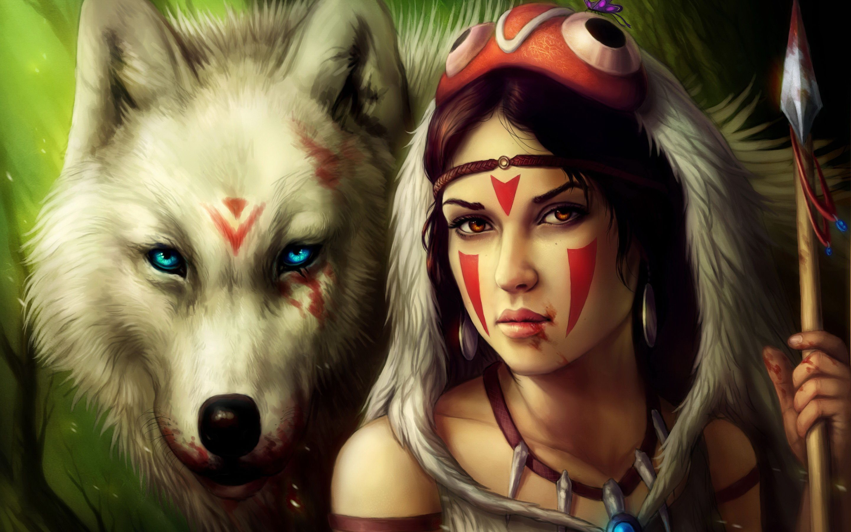 Indian And Wolf Anime Wallpapers Top Free Indian And Wolf Anime