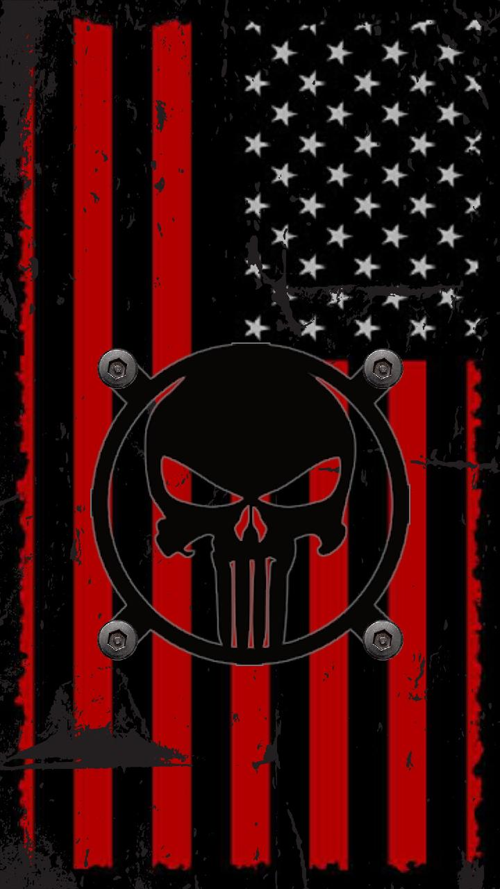 American Flag Punisher Wallpapers Top Free American Flag Punisher