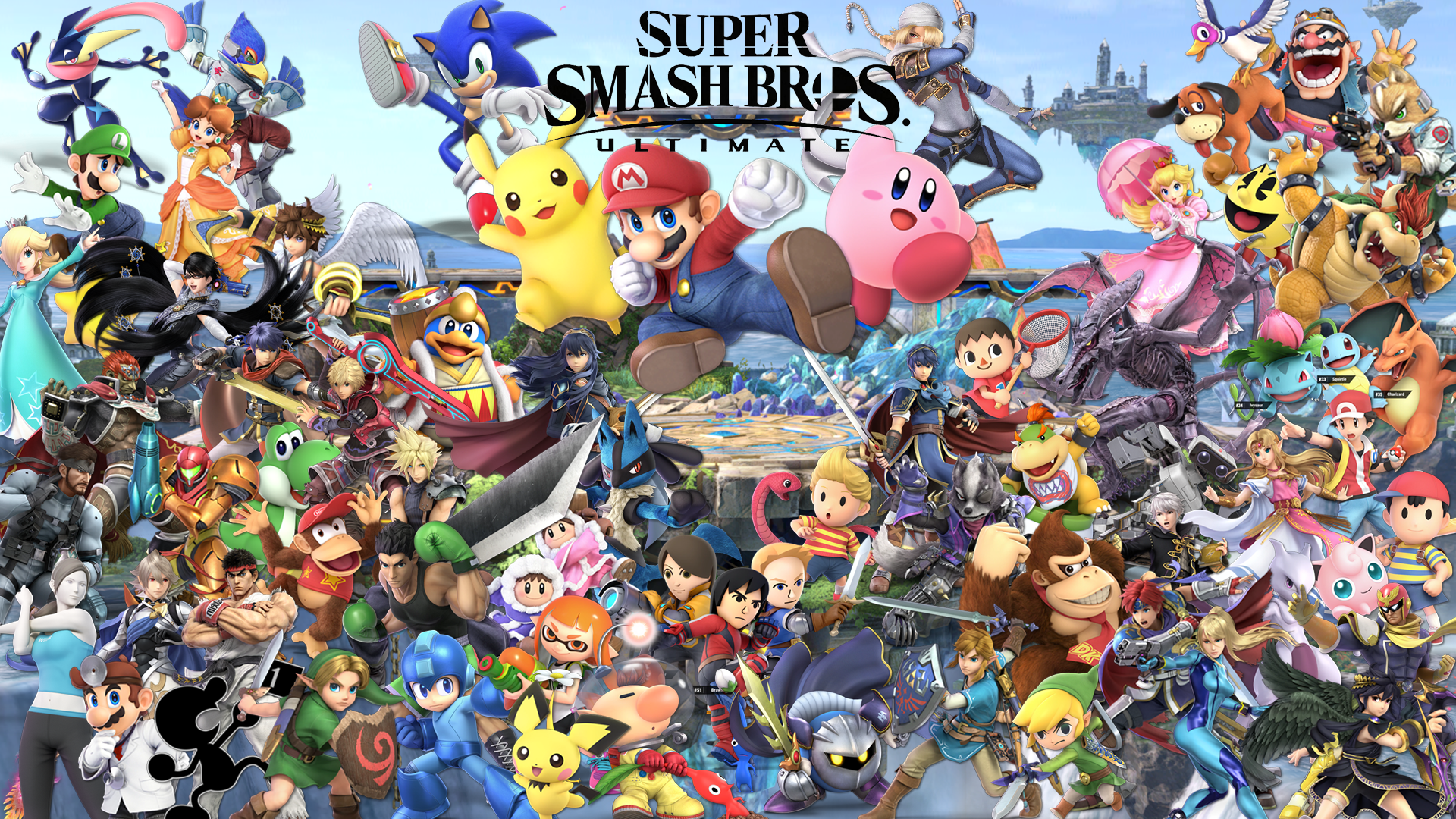 Super Smash Bros Ultimate Wallpapers Top Free Super Smash Bros