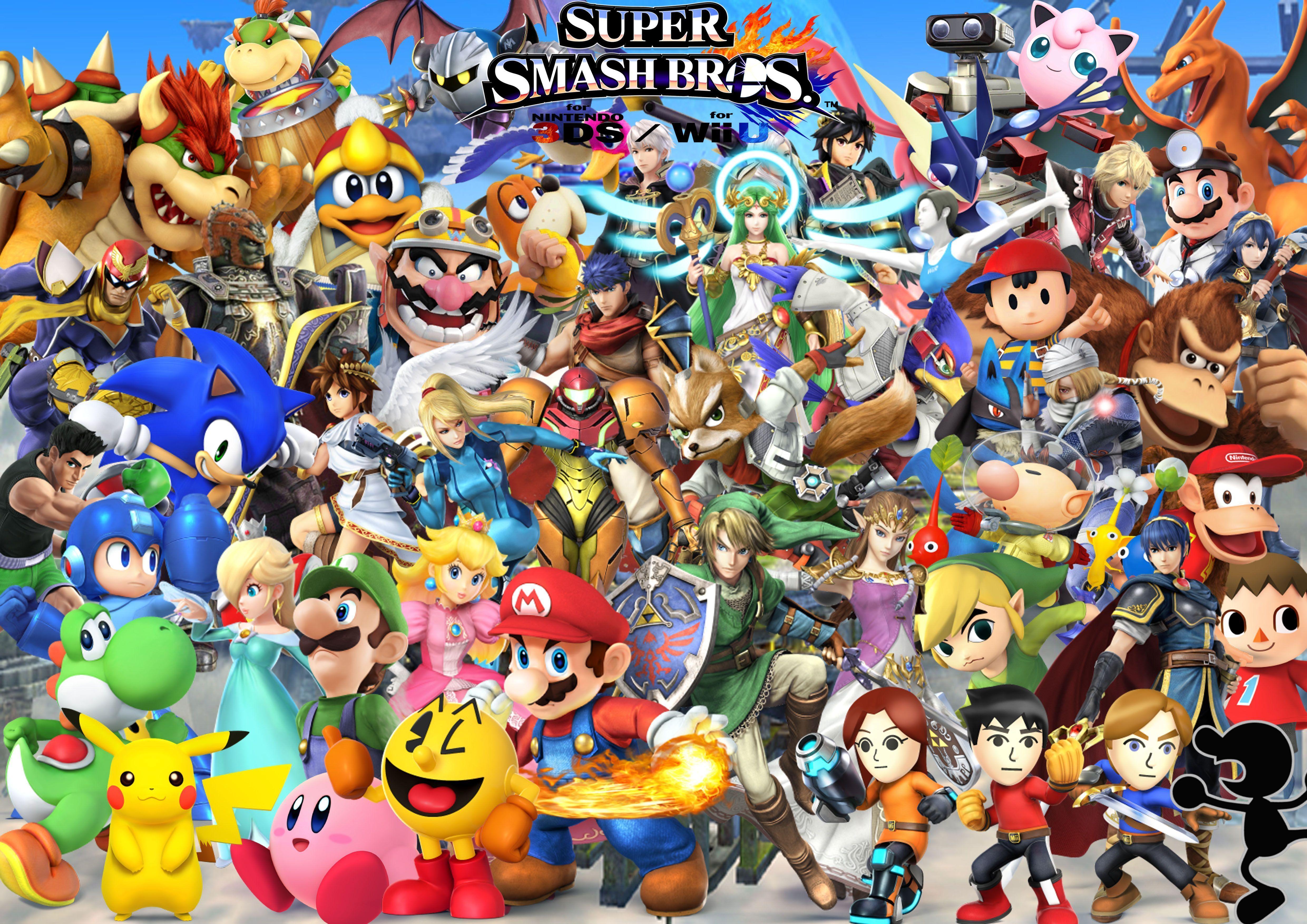 Super Smash Bros Ultimate Wallpapers Top Free Super Smash
