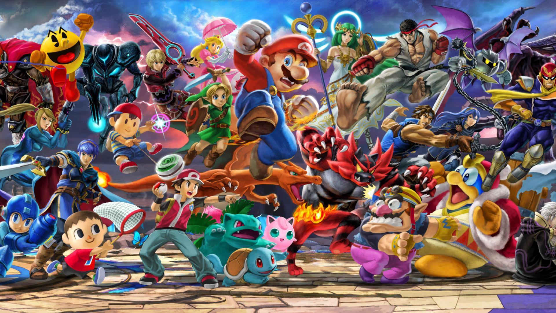 Super Smash Bros Ultimate Wallpapers Top Free Super Smash Bros