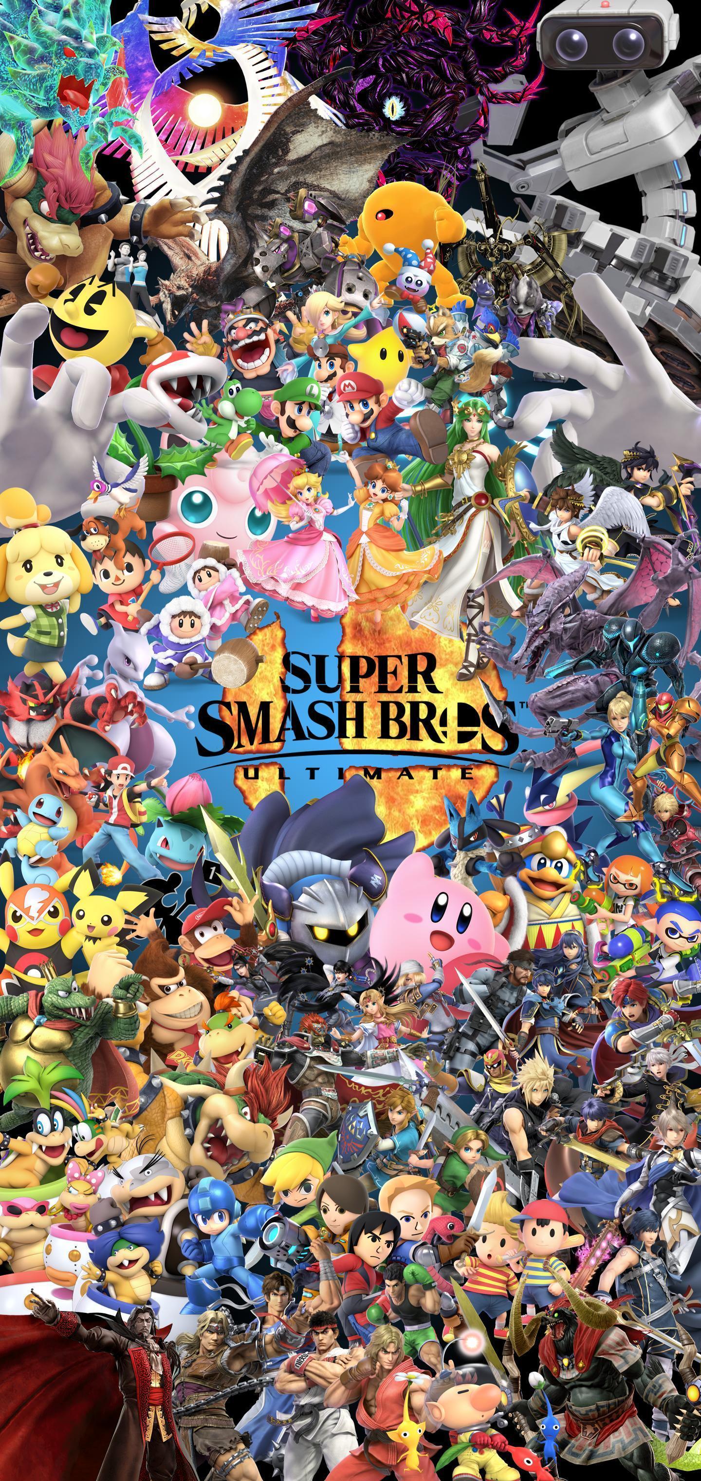 Super Smash Bros: Ultimate Wallpapers - Top Free Super ...