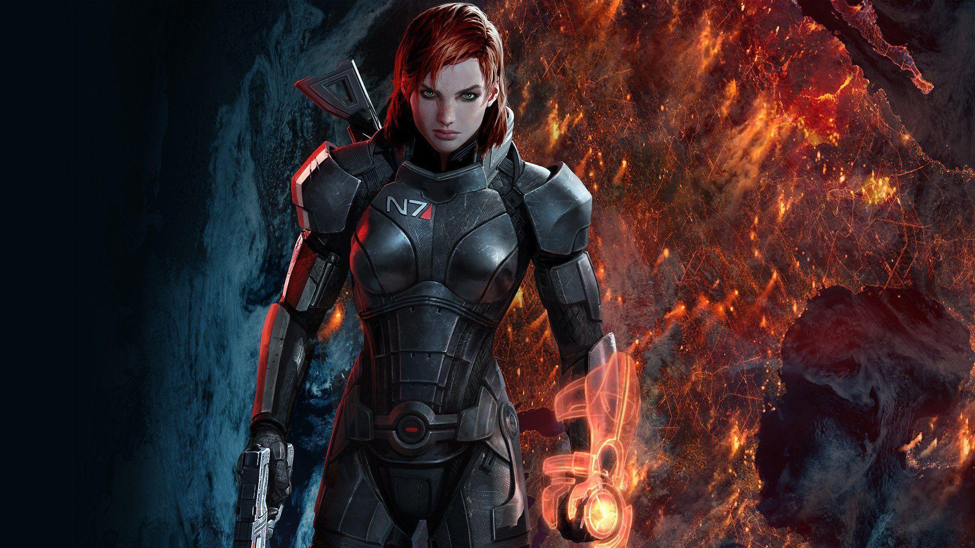 Commander Shepard Wallpapers Top Free Commander Shepard