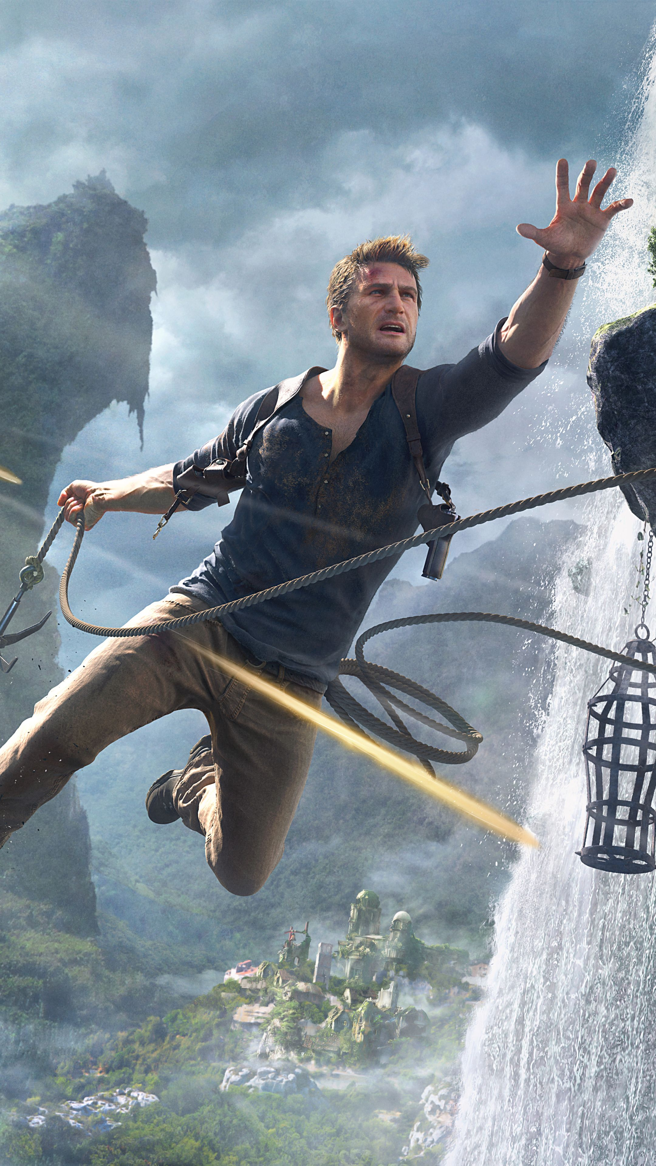 Nathan Drake Iphone Wallpapers Top Free Nathan Drake Iphone