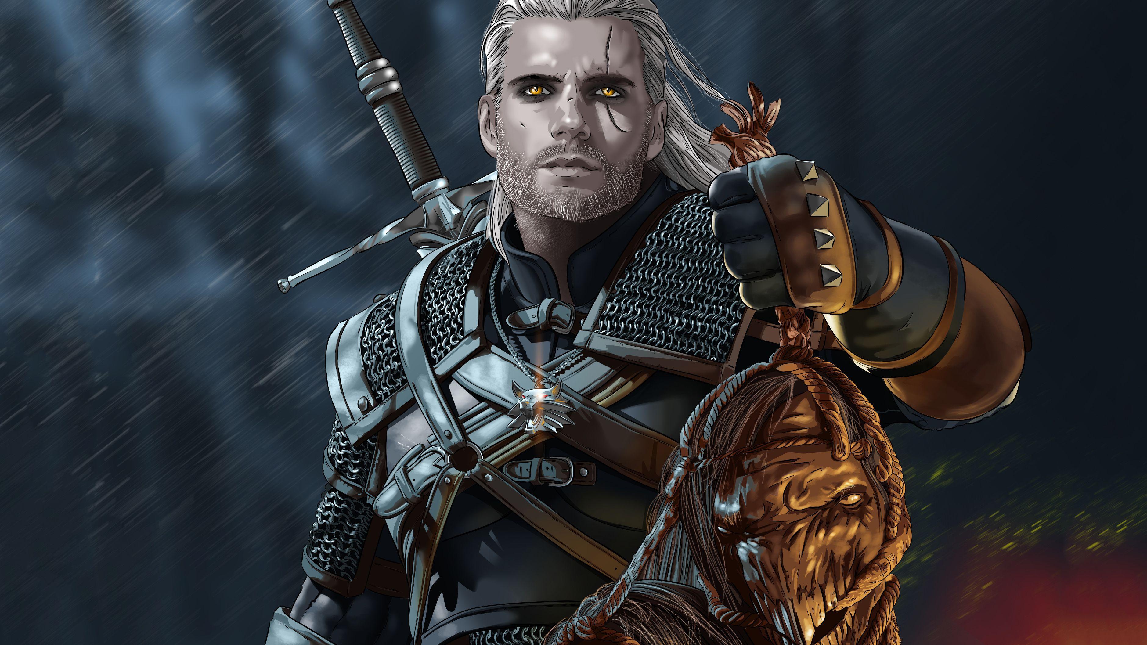 Geralt Of Rivia Wallpapers Top Free Geralt Of Rivia