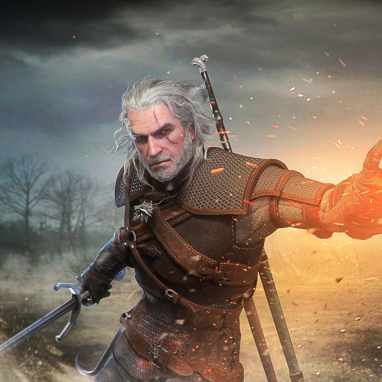 Geralt Of Rivia Wallpapers Top Free Geralt Of Rivia Backgrounds