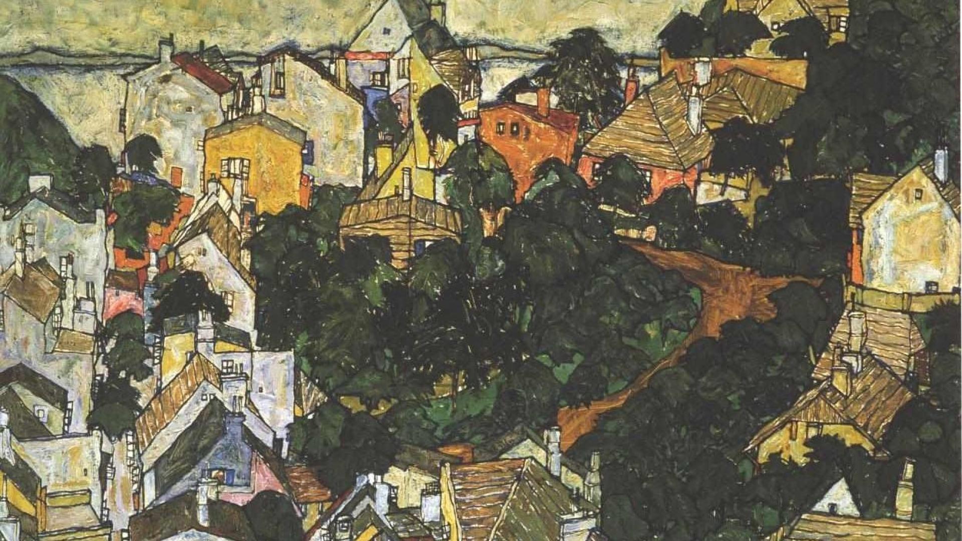 1920x1080 Egon Schiele hình nền